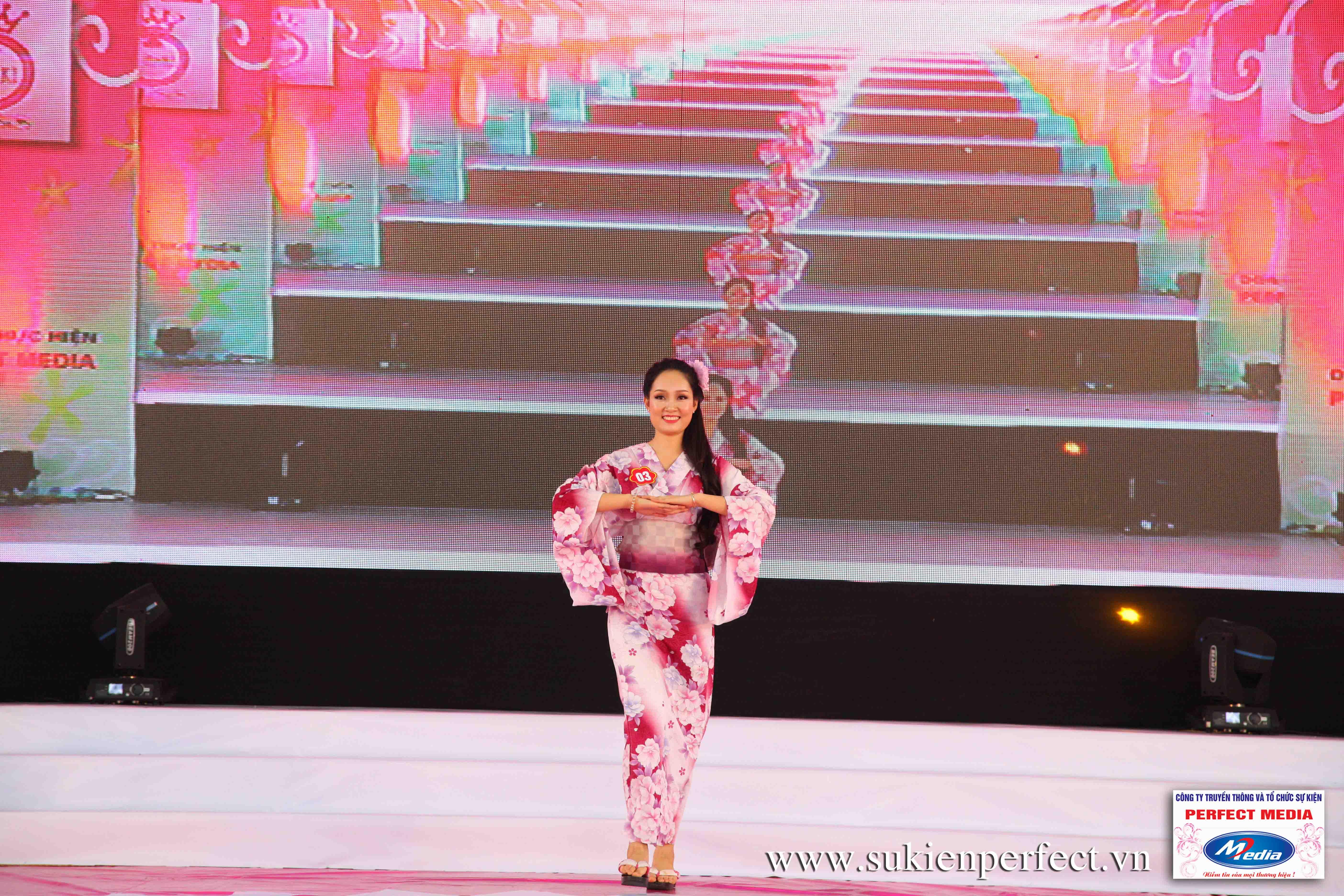Hình ảnh các thí sinh trong trang phục Kimono - Người đẹp Yazaki Quảng Ninh 2016 - 05