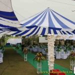 Cung cấp cho thuê nhà dù – nhà bạt tổ chức sự kiện