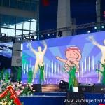 Công ty tổ chức sự kiện Perfect Media setup sân khấu Đại Hội FLP Việt Nam