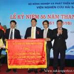 Lễ kỷ niệm 55 năm thành lập Viện Nghiên cứu hải sản