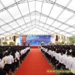 Cho thuê nhà bạt, nhà dù tại Hưng Yên | Perfect Media
