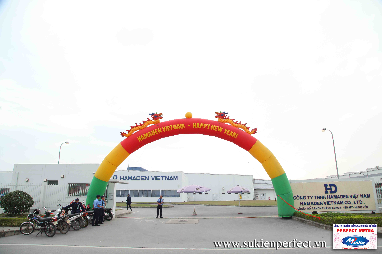 Cổng chào, cổng hơi sự kiện Handmade Việt Nam