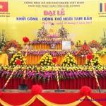 Đại lễ khởi công – động thổ ngôi Tam Bảo chùa Sùng Linh