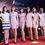Trình diễn mẫu váy Bella moda tại lễ khai trương Shop