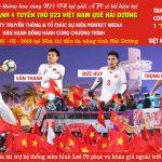 Sự kiện vinh danh 4 tuyển thủ U23 Việt Nam tại Hải Dương diễn ra như thế nào?