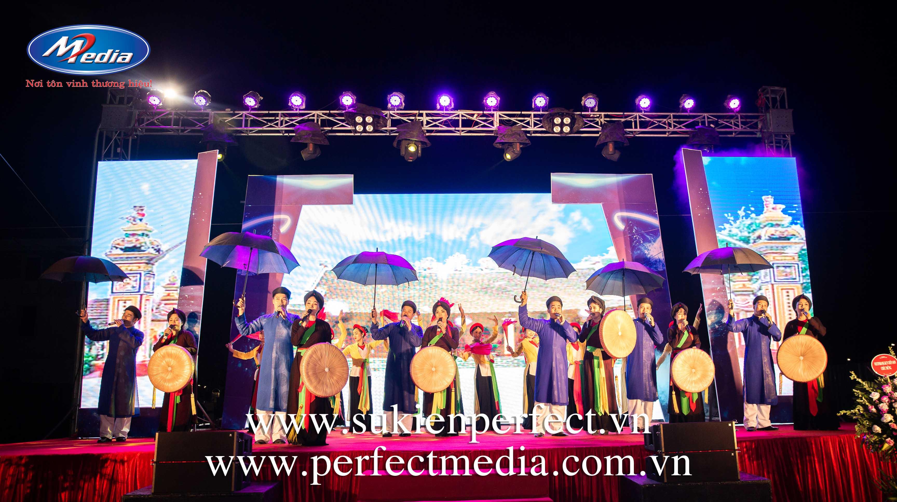 cho thuê âm thanh ánh sáng sự kiện tại Bắc Ninh