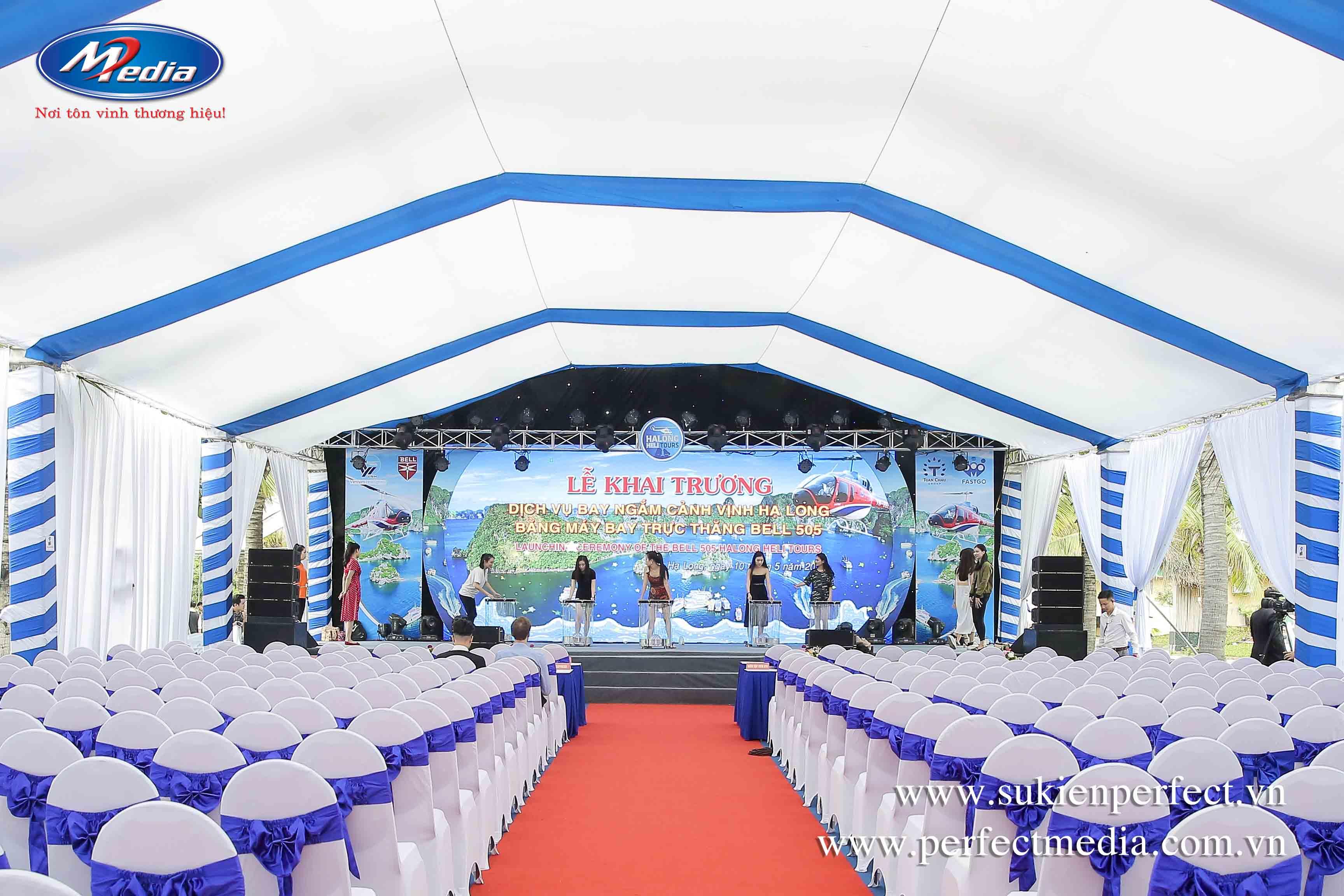 Hệ thống âm thanh ánh lớn cung cấp cho sự kiện chuyên nghiệp tại Quảng Ninh - Hạ Long