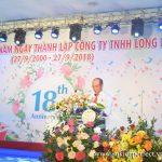 Lễ kỷ niệm 18 năm thành lập Công ty TNHH Long Hải
