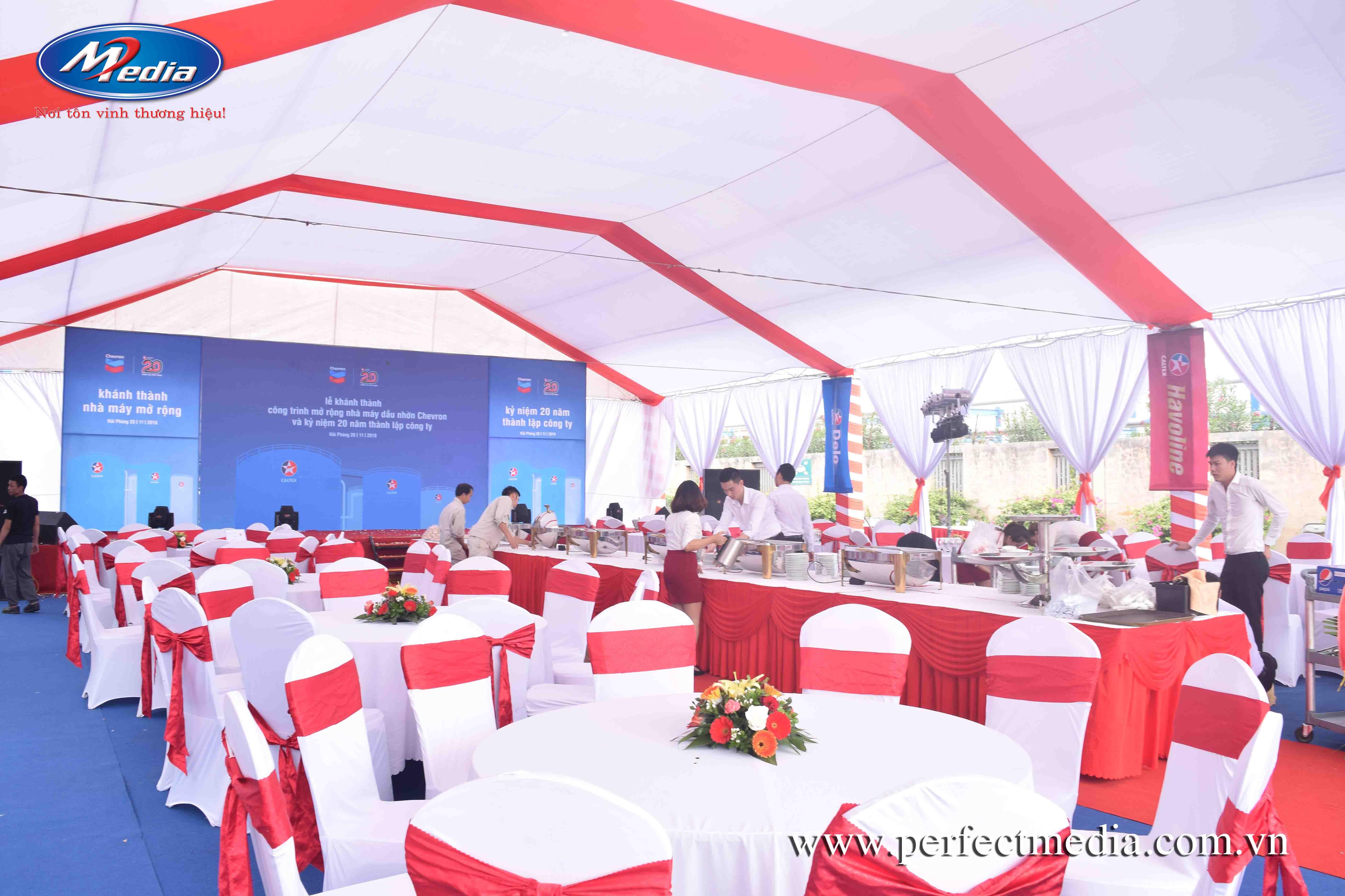công ty tổ chức sự kiện tại hải dương