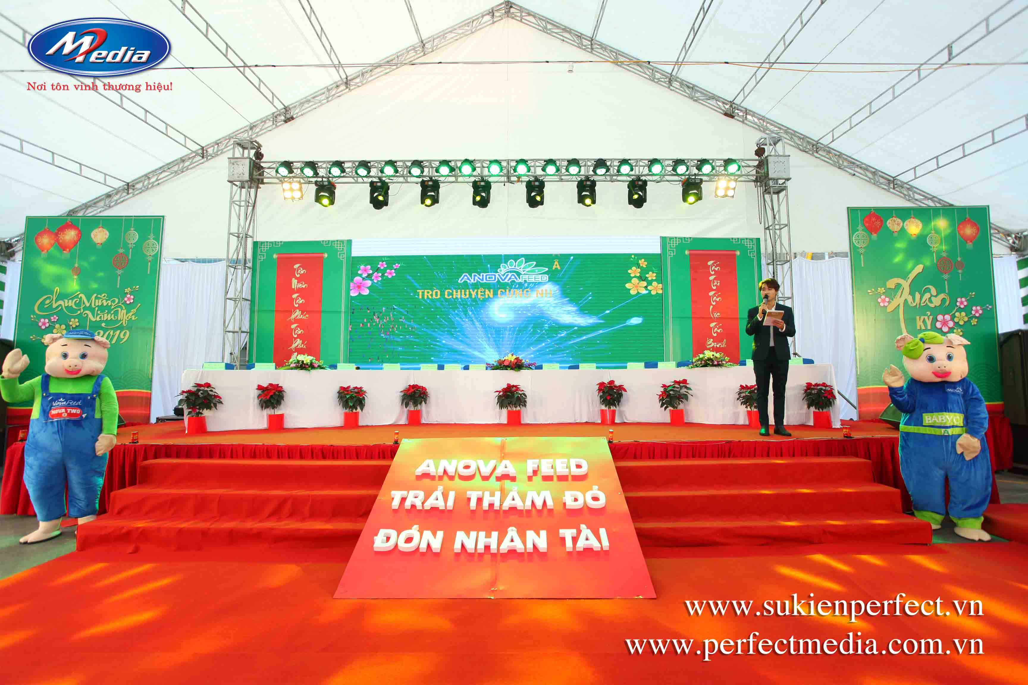 Lắp đặt, cho thuê màn hình LED, máy chiếu sự kiện tại Hưng Yên