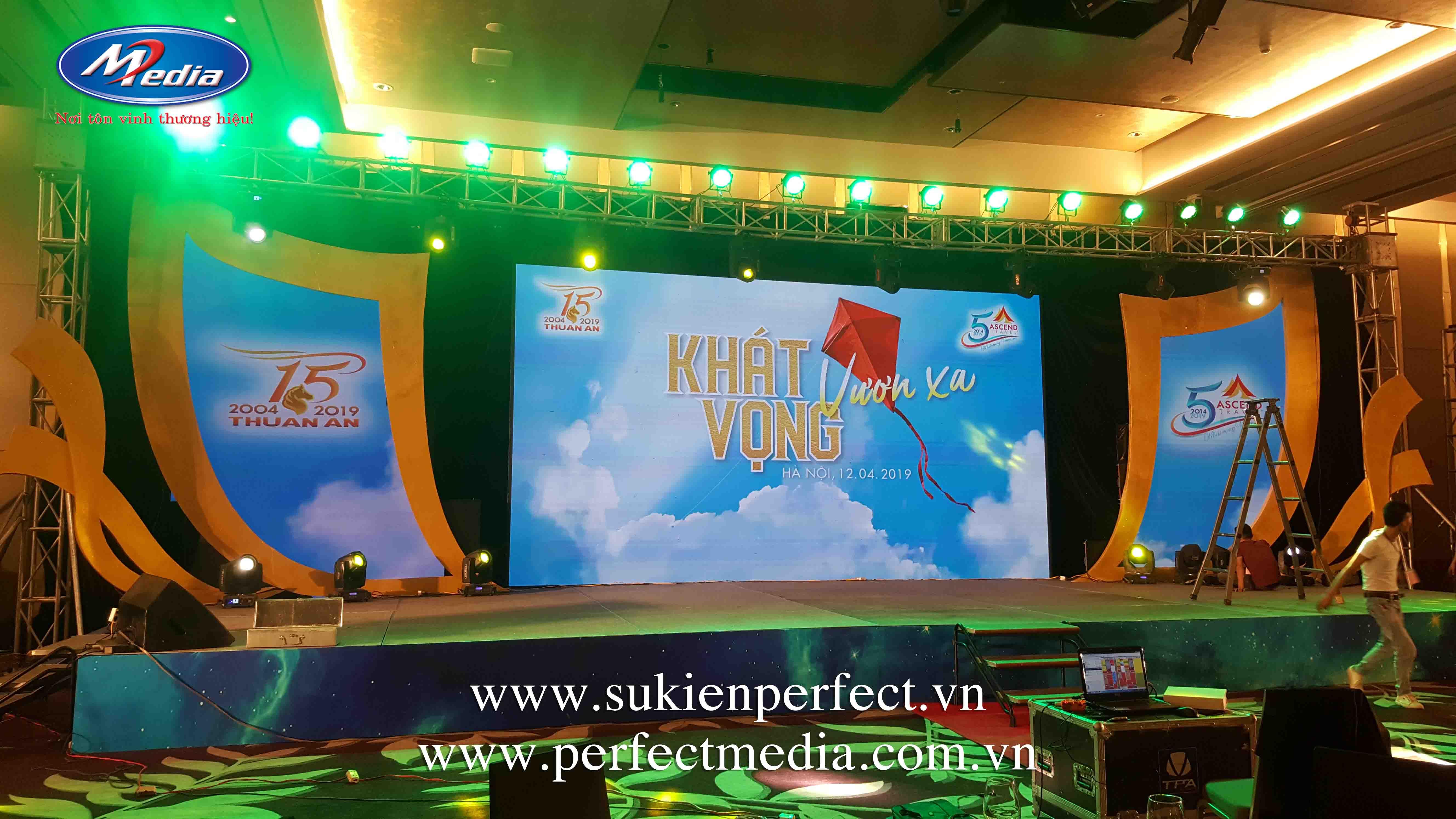 Công ty tổ chức sự kiện tại Hà Nội Perfect Media