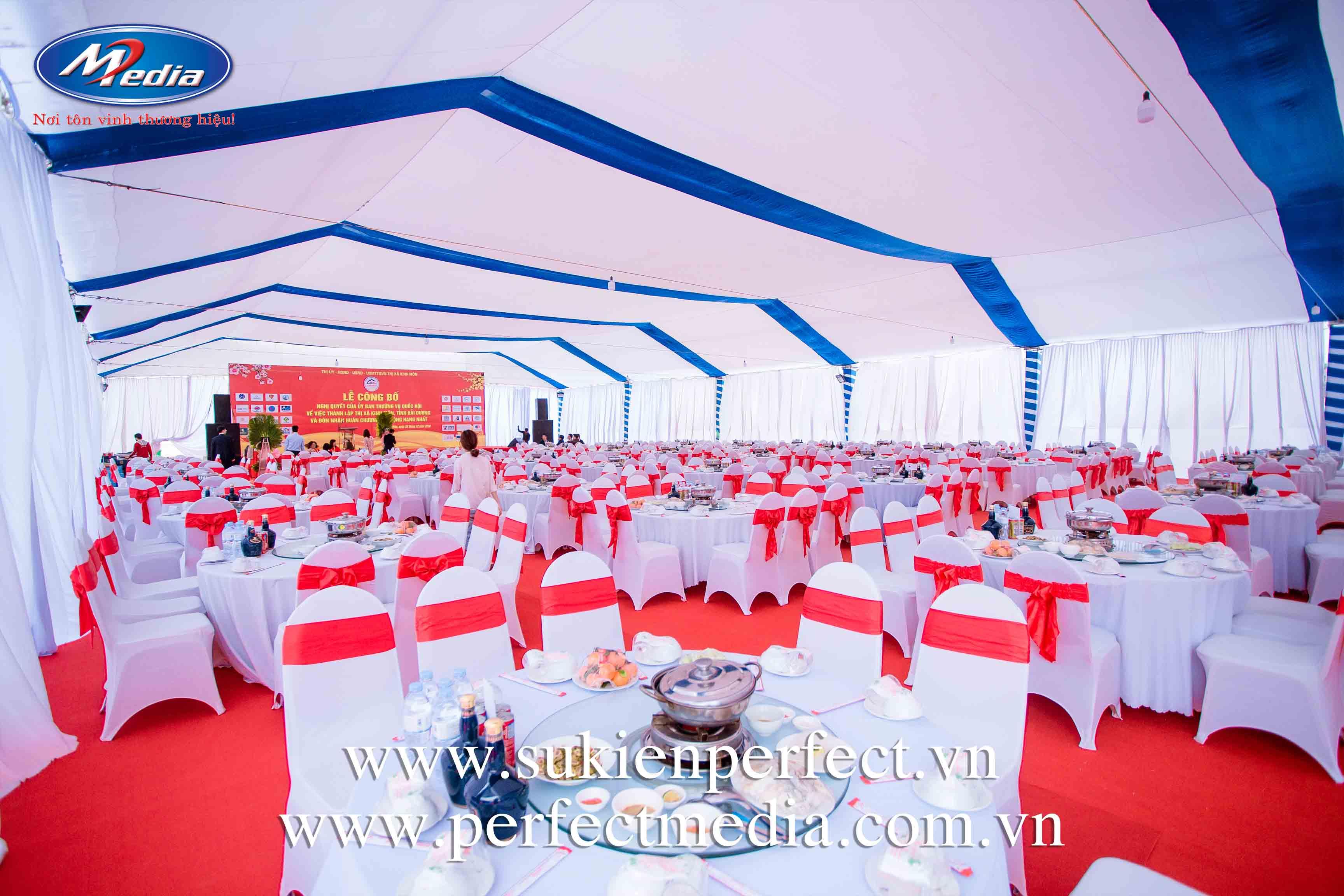 Cho thuê thiết bị sự kiện tại Quảng Ninh