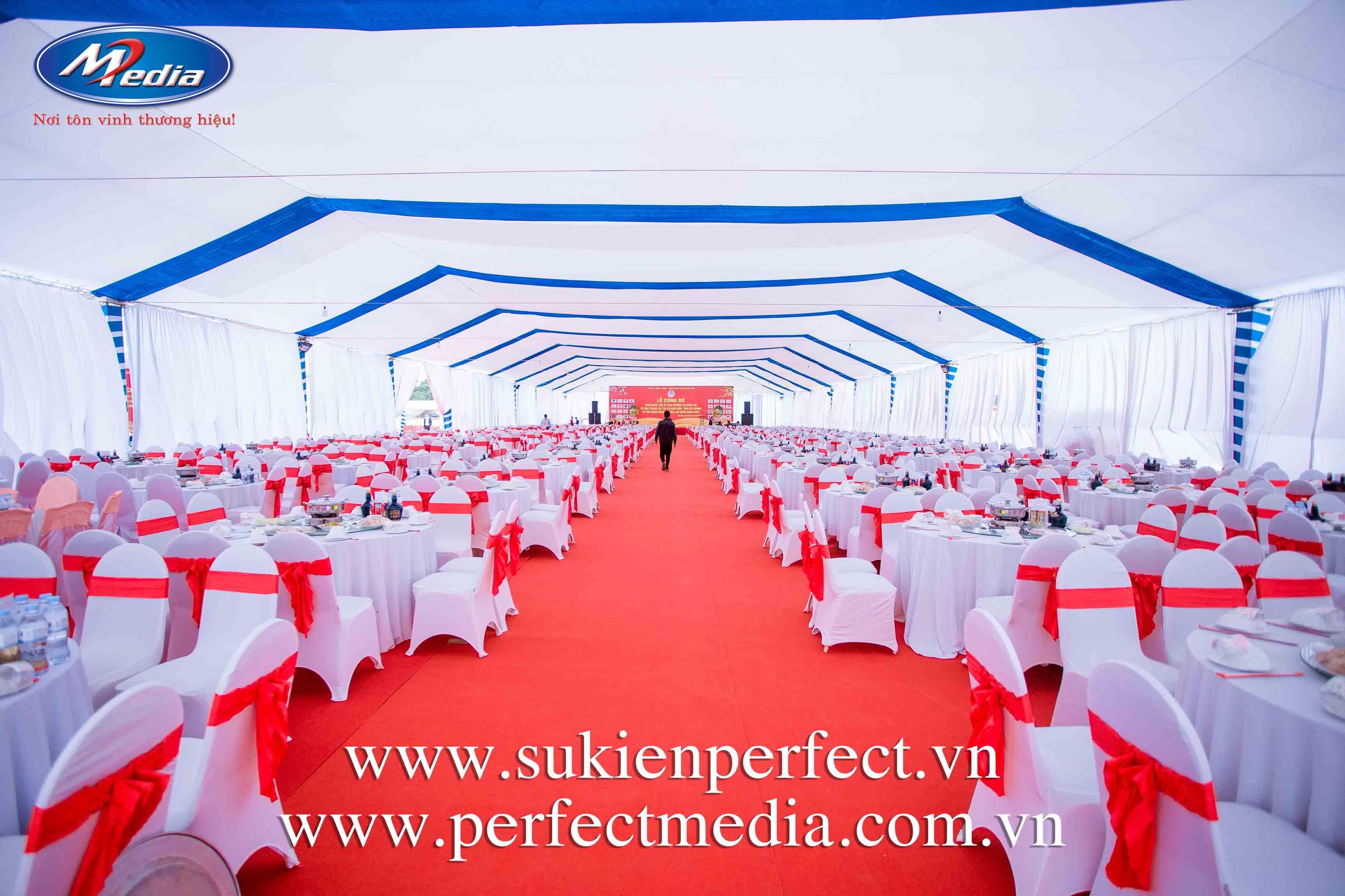 tổ chức lễ kỷ niệm, tri ân chuyên nghiệp khác mà công ty Perfect Media phục vụ Quý khách tại Hải Phòng