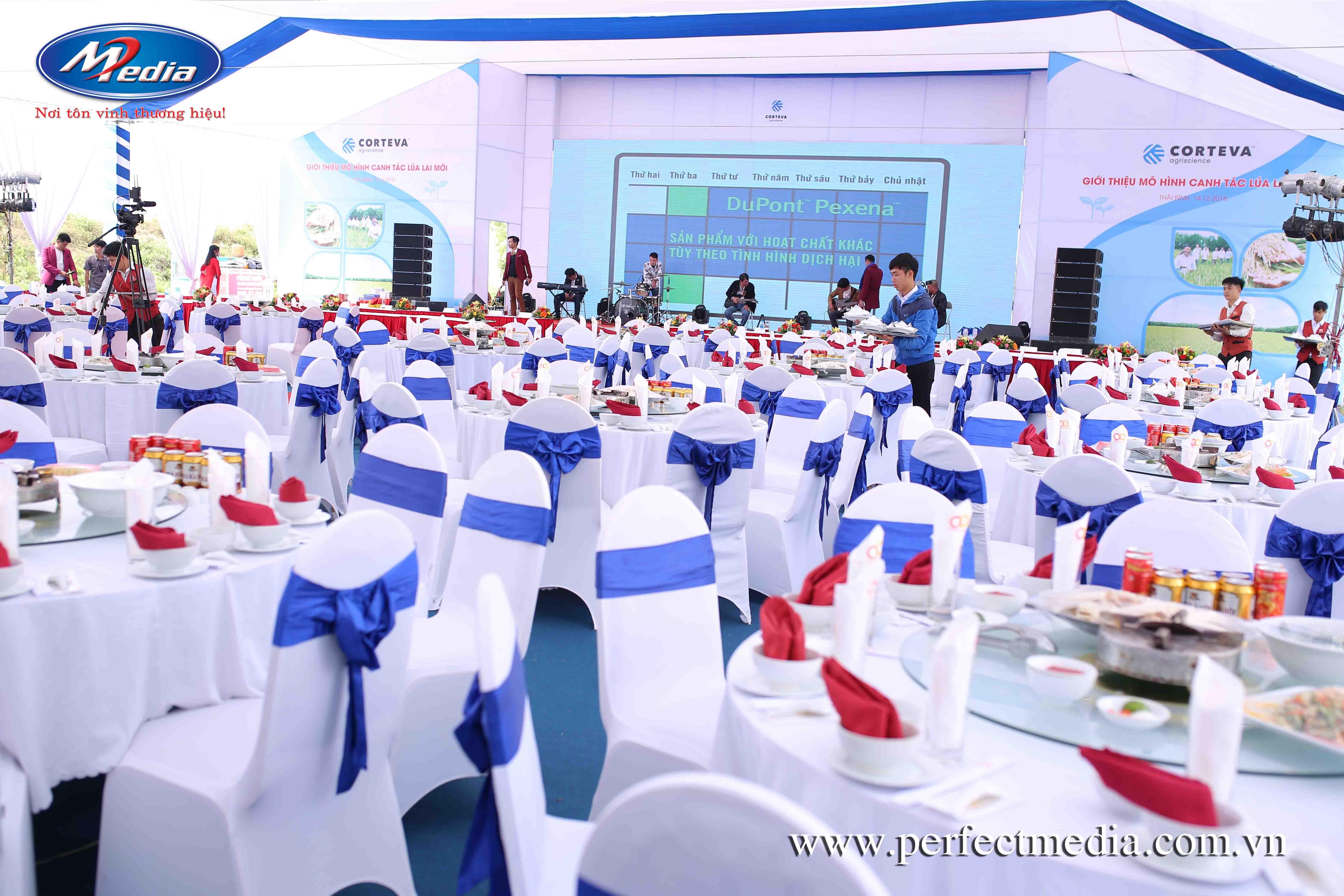 Công ty tổ chức lễ ra mắt, giới thiệu sản phẩm chuyên nghiệp tại Hải Phòng Perfect Media