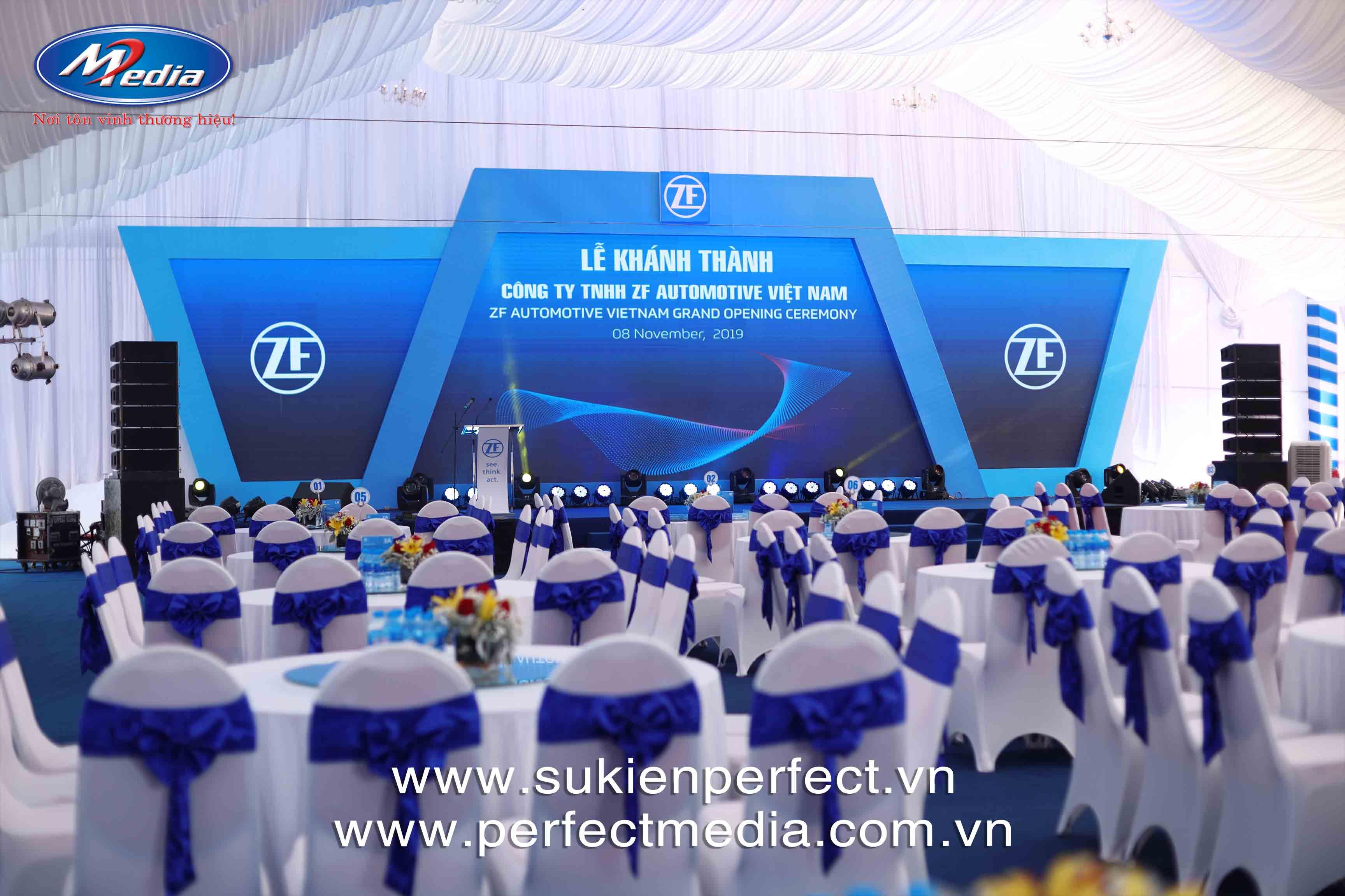công ty Perfect Media còn cung cấp nhiều trang thiết bị tổ chức Lễ khai trương, khánh thành chuyên nghiệp khác tại Hải Phòng