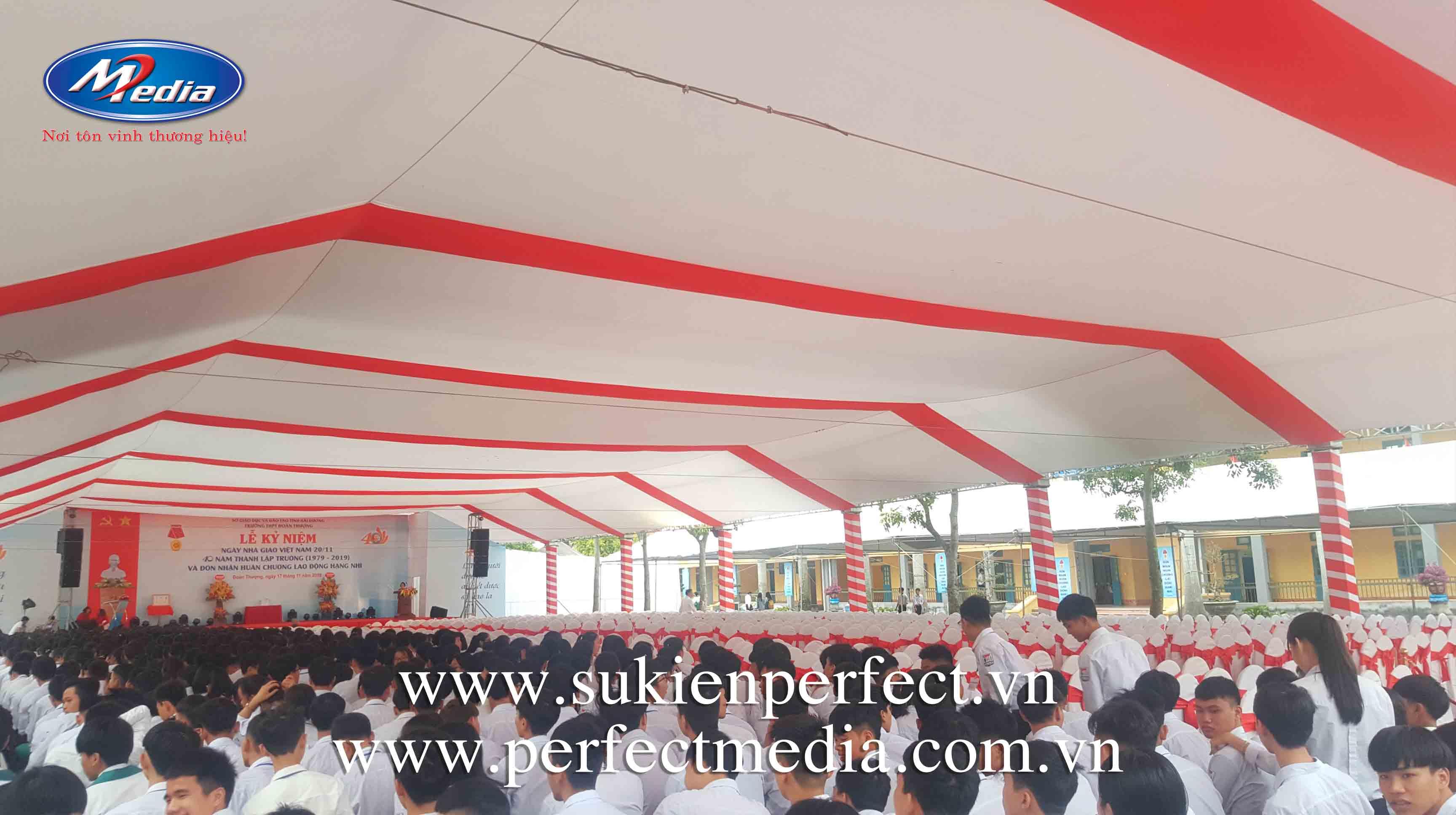 Hạng mục sự kiện cần thiết để tổ chức lễ kỷ niệm, tri ân chuyên nghiệp tại Thái Bình