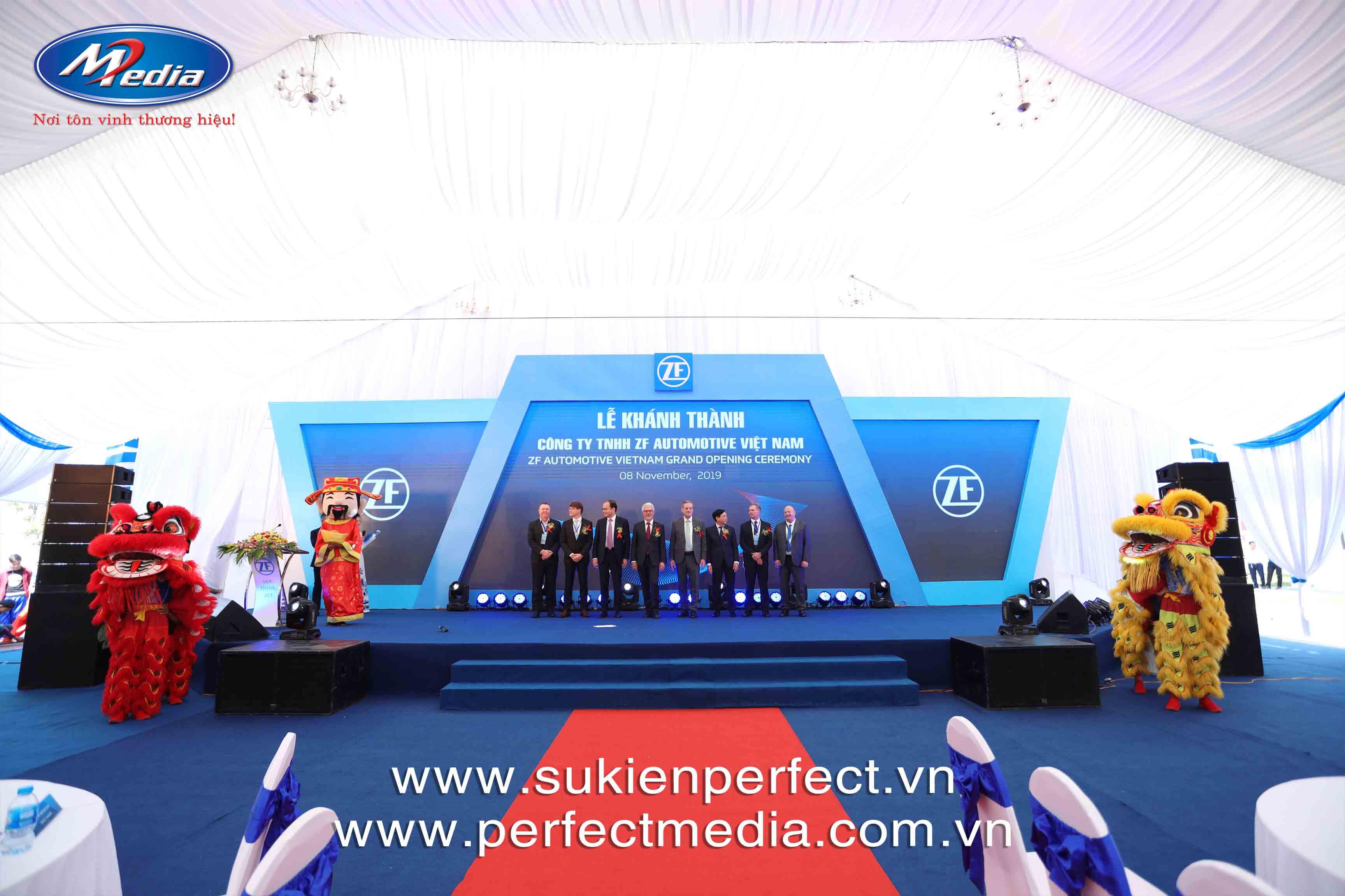Một số sự kiện tiêu biểu lễ khai trương, khánh thành, họp báo... do công ty Perfect Media tổ chức