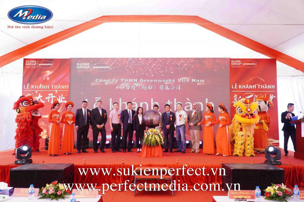 công ty tổ chức lễ khai trương, khánh thành chuyên nghiệp uy tín tại Hải Phòng