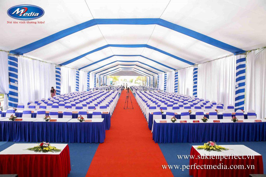 Những trang thiết bị cần thiết cho sự kiện lễ khai trương, khánh thành tại Hạ Long, Quảng Ninh mà Perfect Media cung cấp