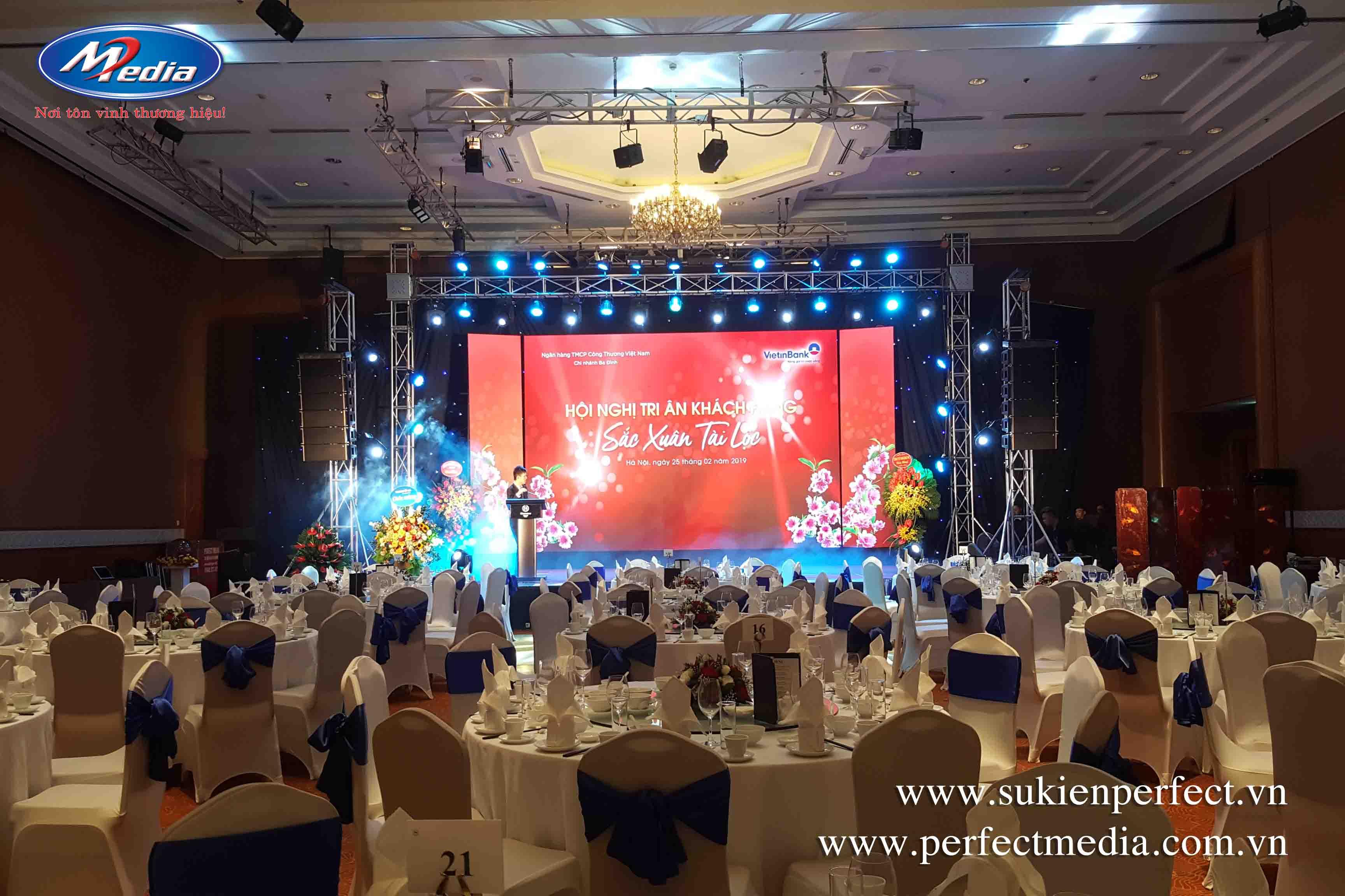 tổ chức hội nghị, tri ân khách hàng tại Hà Nội