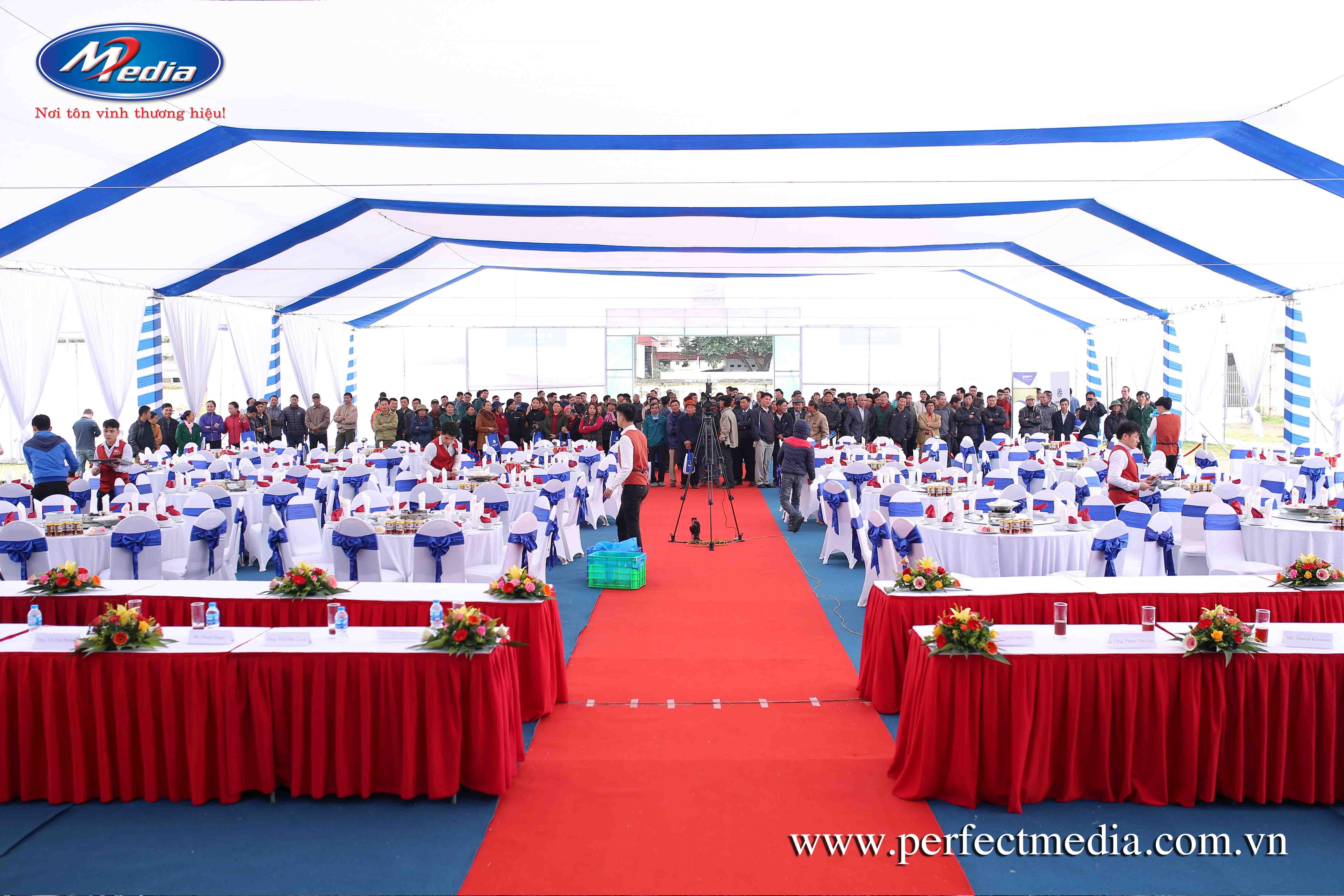 Perfect Media tư vấn, cung cấp địa điểm tổ chức lễ ra mắt, giới thiệu sản phẩm, dịch vụ mới