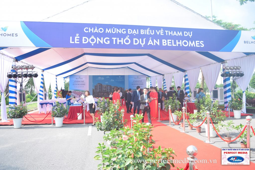 công ty Perfect Media để tổ chức lễ khởi công, động thổ tại Hạ Long và trên toàn tỉnh Quảng Ninh