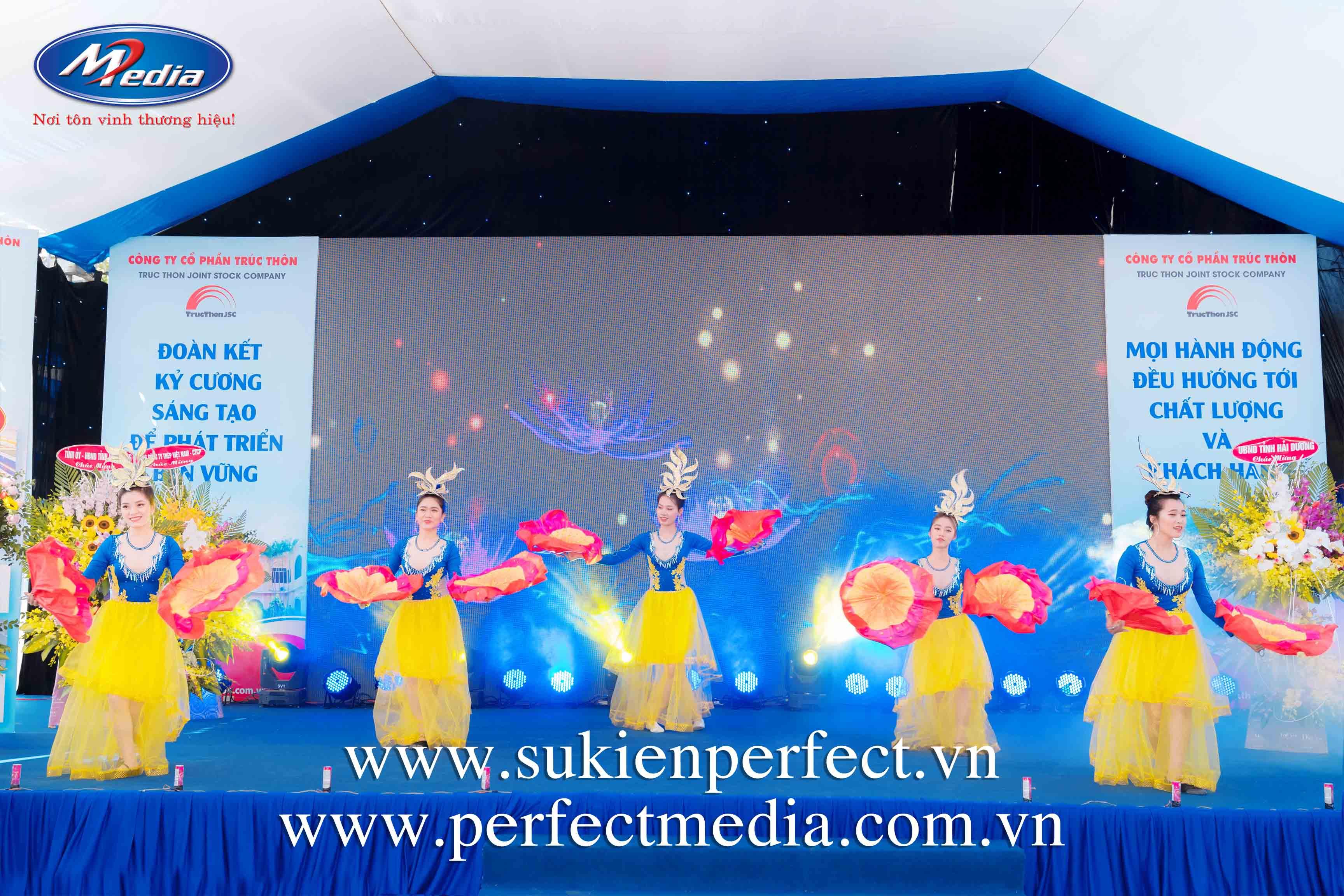 Nhân sự tổ chức lễ khai trương, khánh thành tại Bắc Ninh