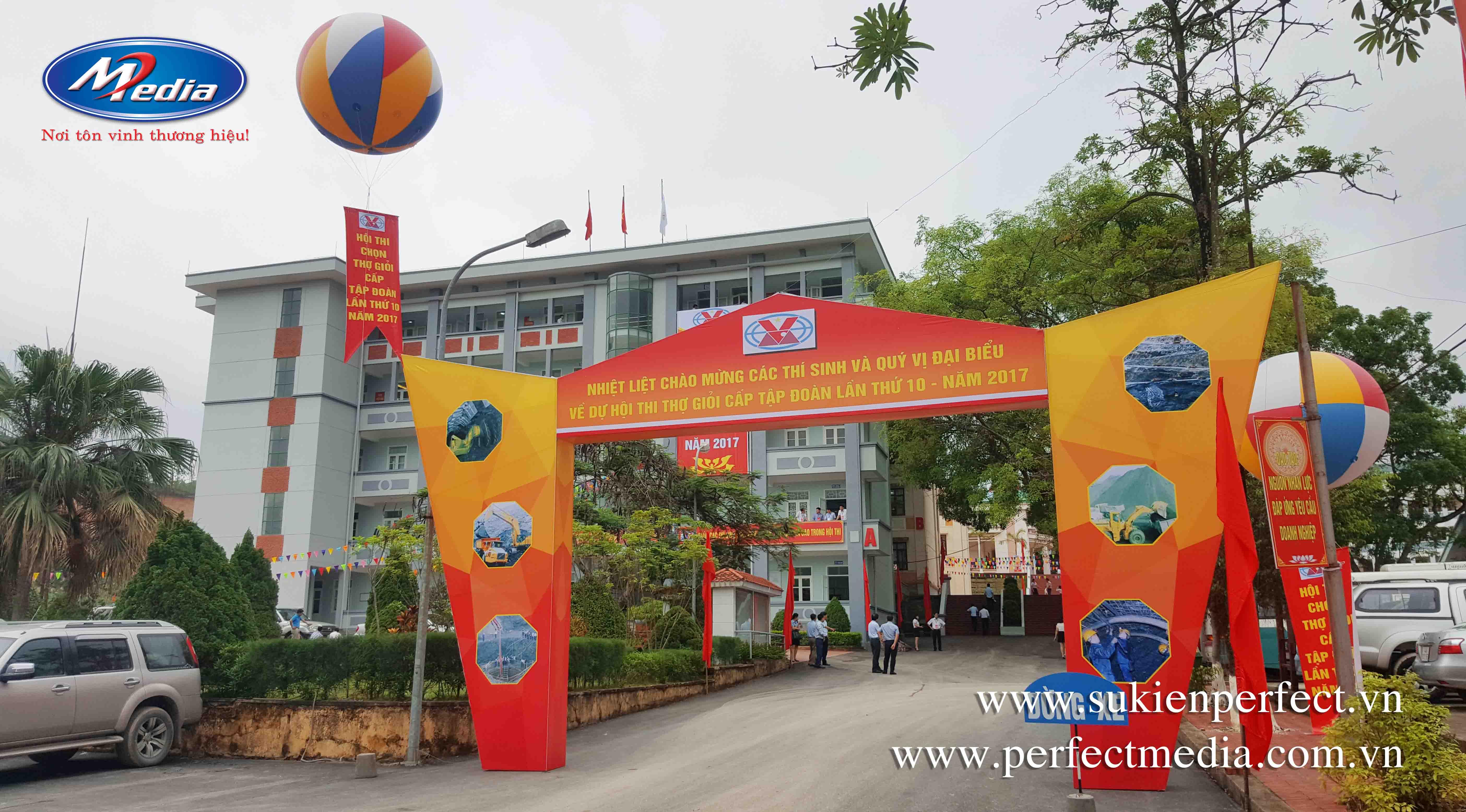 công ty tổ chức sự kiện Hạ Long Quảng Ninh Perfect Media 7