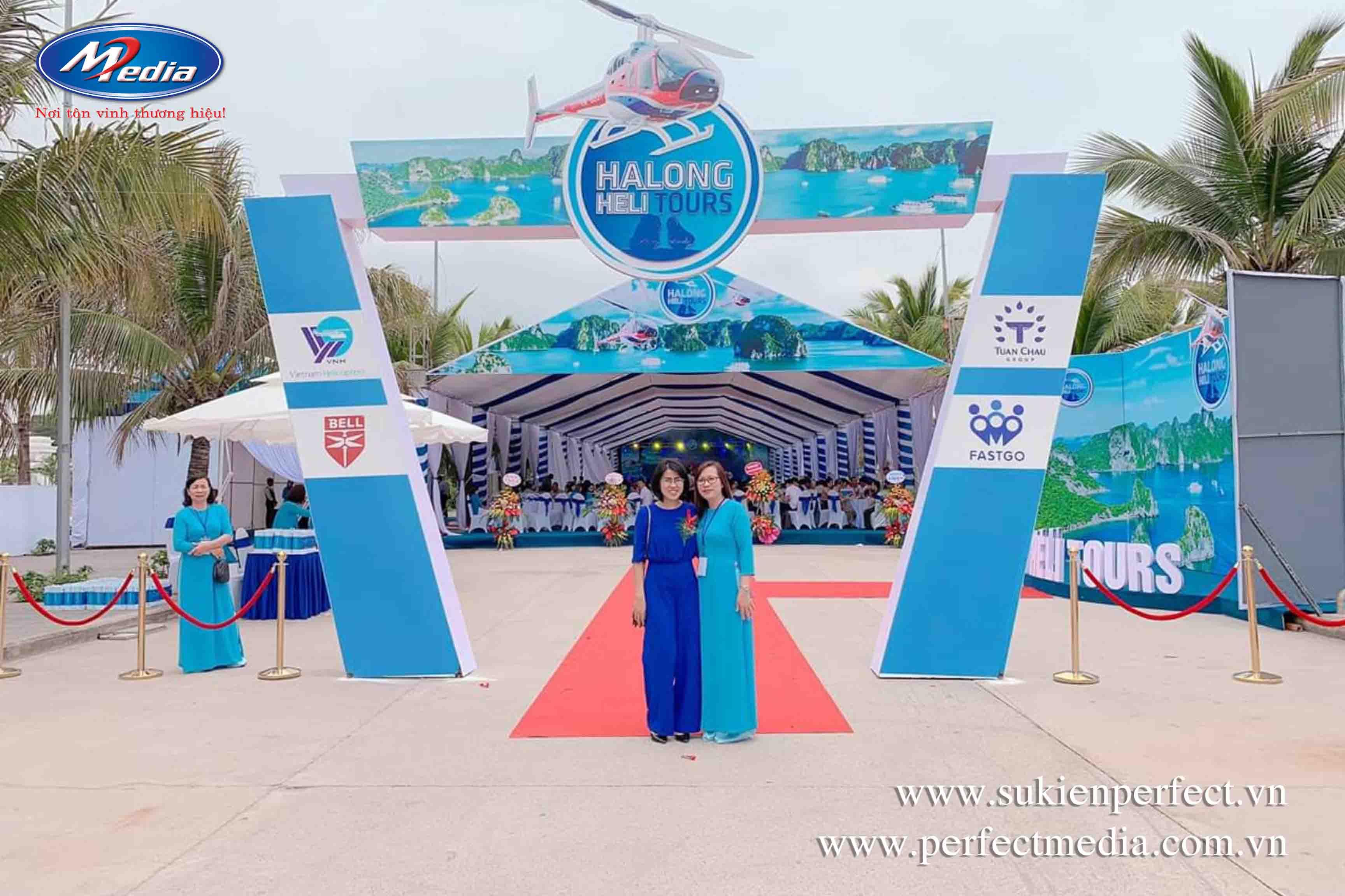 công ty tổ chức sự kiện Hạ Long Quảng Ninh Perfect Media