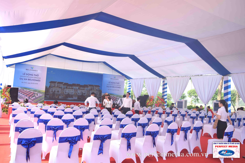 chương trình lễ khởi công xây dựng, động thổ tại Bắc Ninh 01