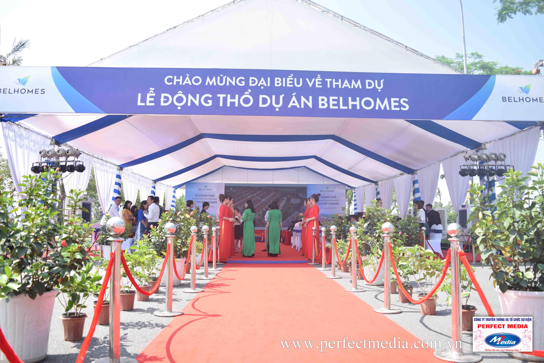 chương trình lễ khởi công xây dựng, động thổ tại Bắc Ninh