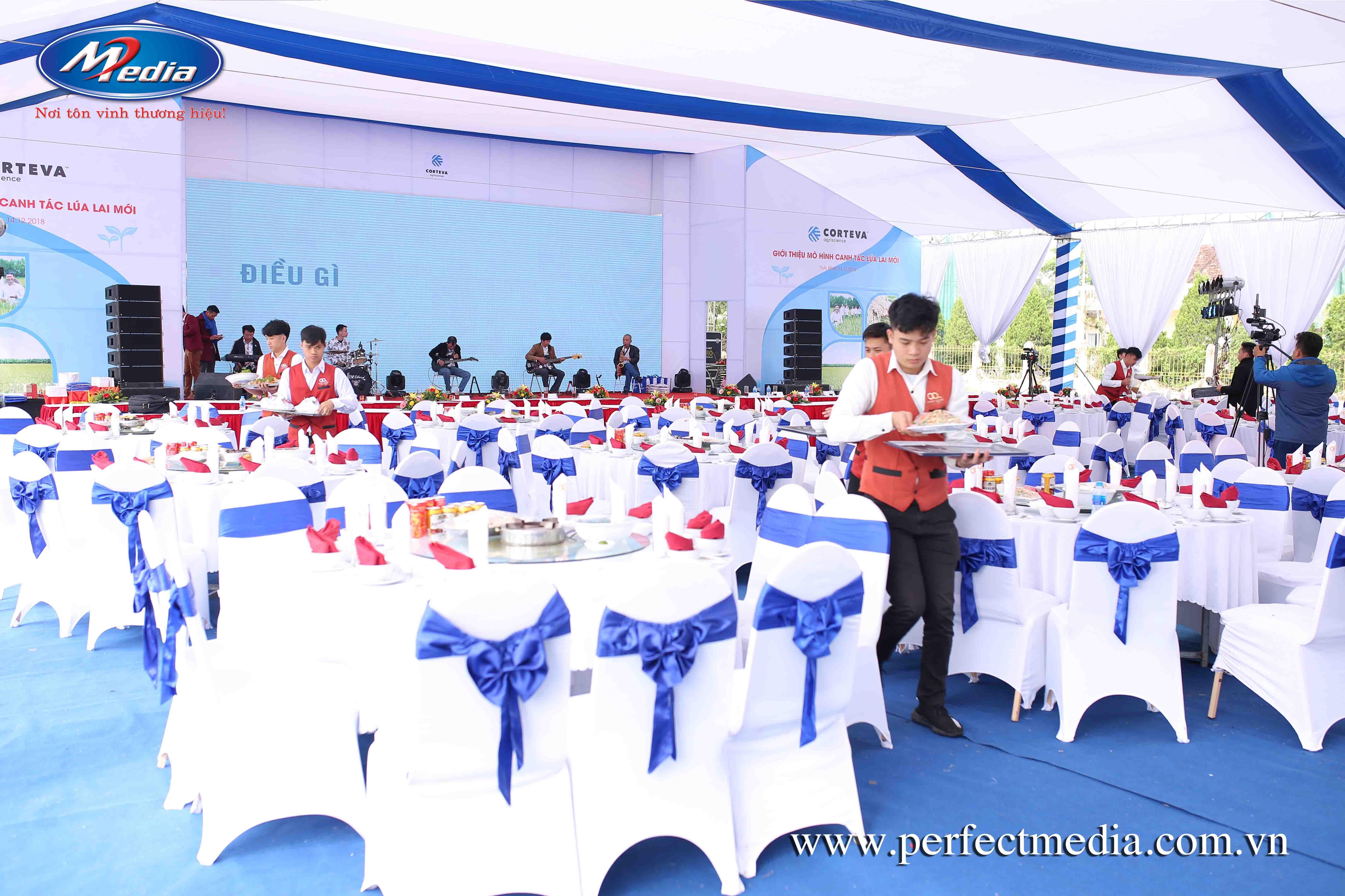 công ty tổ chức sự kiện tại thái bình