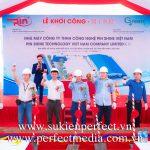 Tổ Chức Lễ Khởi Công Động Thổ Tại Bắc Ninh