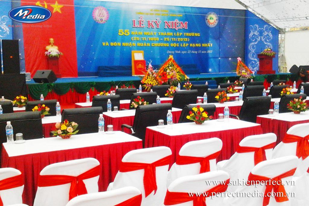 Trang thiết bị cần thiết để công ty/đơn vị Quý vị tổ chức lễ kỷ niệm, tri ân tại TP Hạ Long và Quảng Ninh
