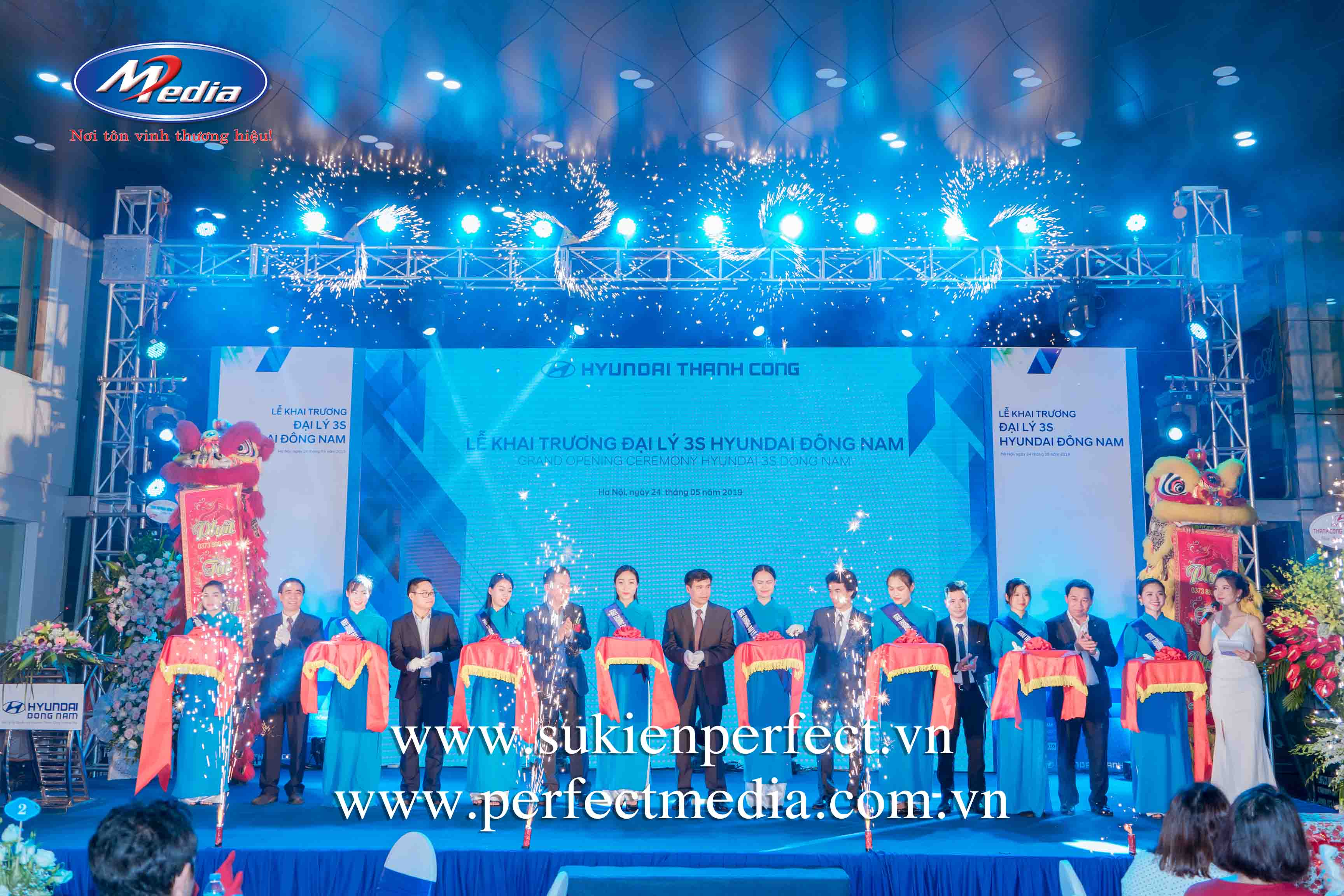 tổ chức lễ khai trương, khánh thành tại Bắc Ninh