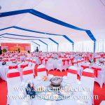 Cho thuê nhà bạt, bàn ghế sự kiện chuyên nghiệp tại Thái Bình