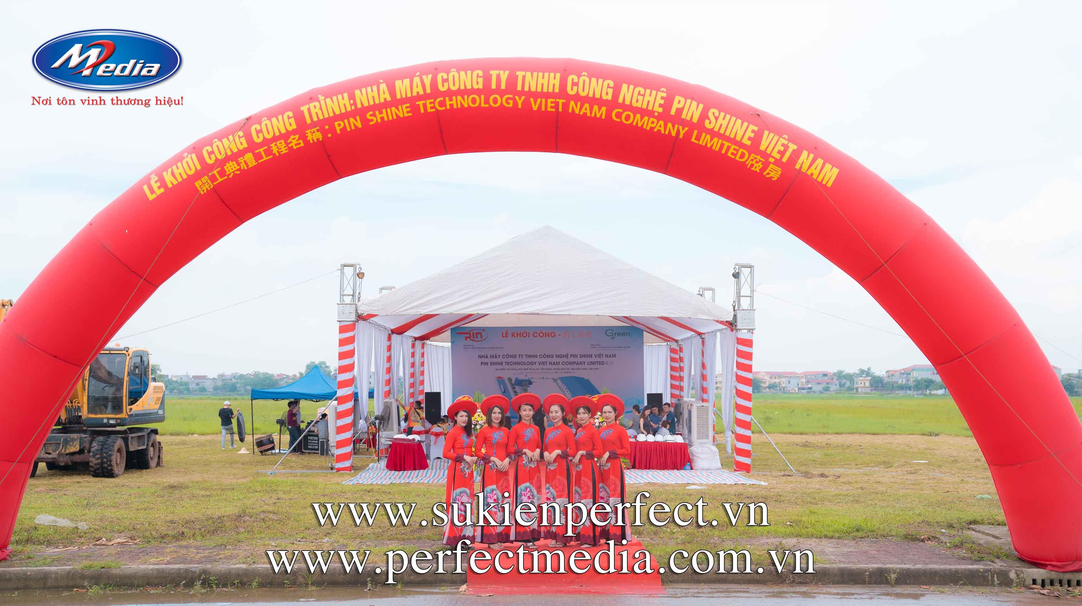Công ty tổ chức sự kiện khởi công, động thổ chuyên nghiệp