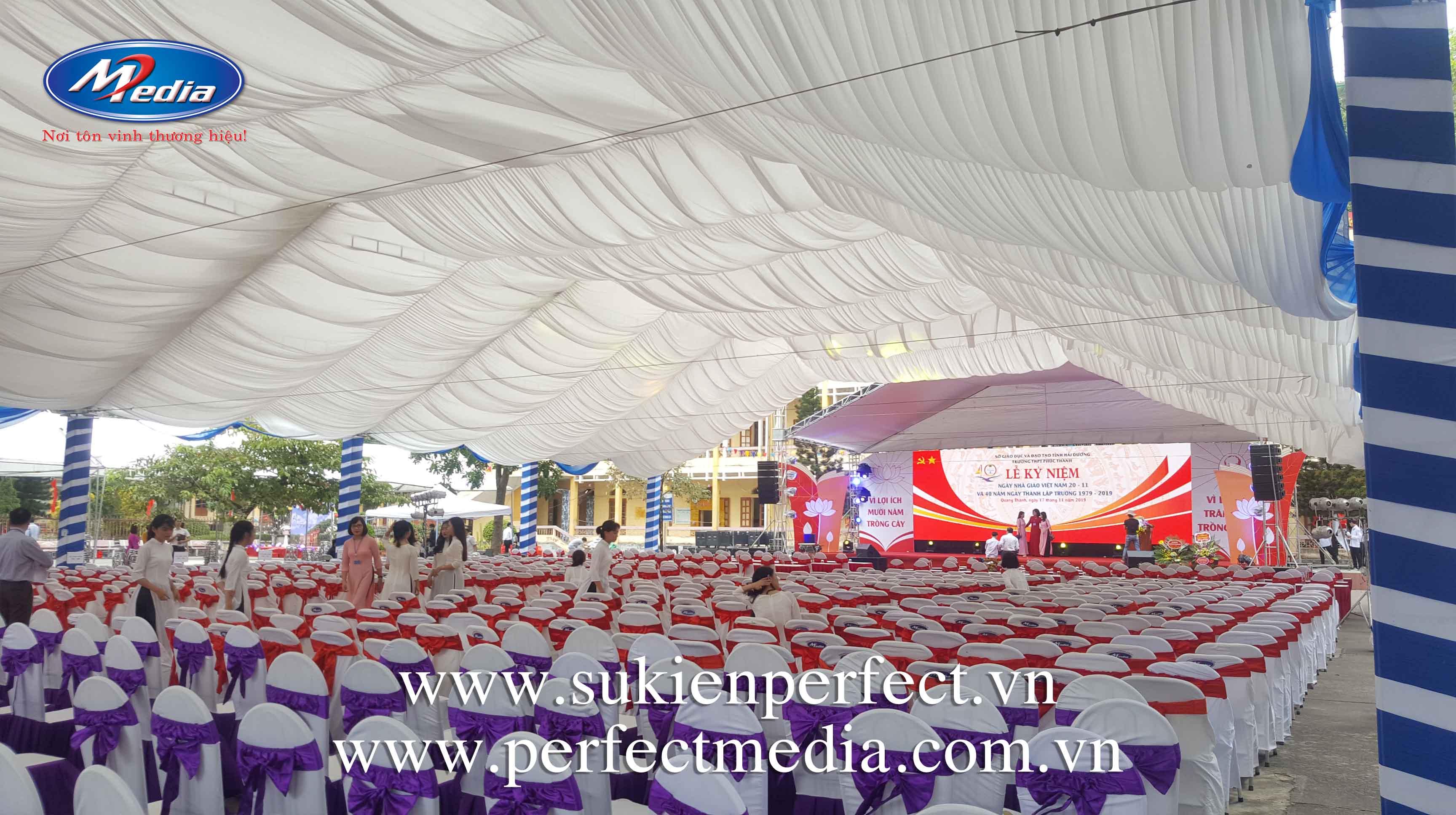 Dịch vụ tổ chức sự kiện lễ kỷ niệm tại Bắc Giang