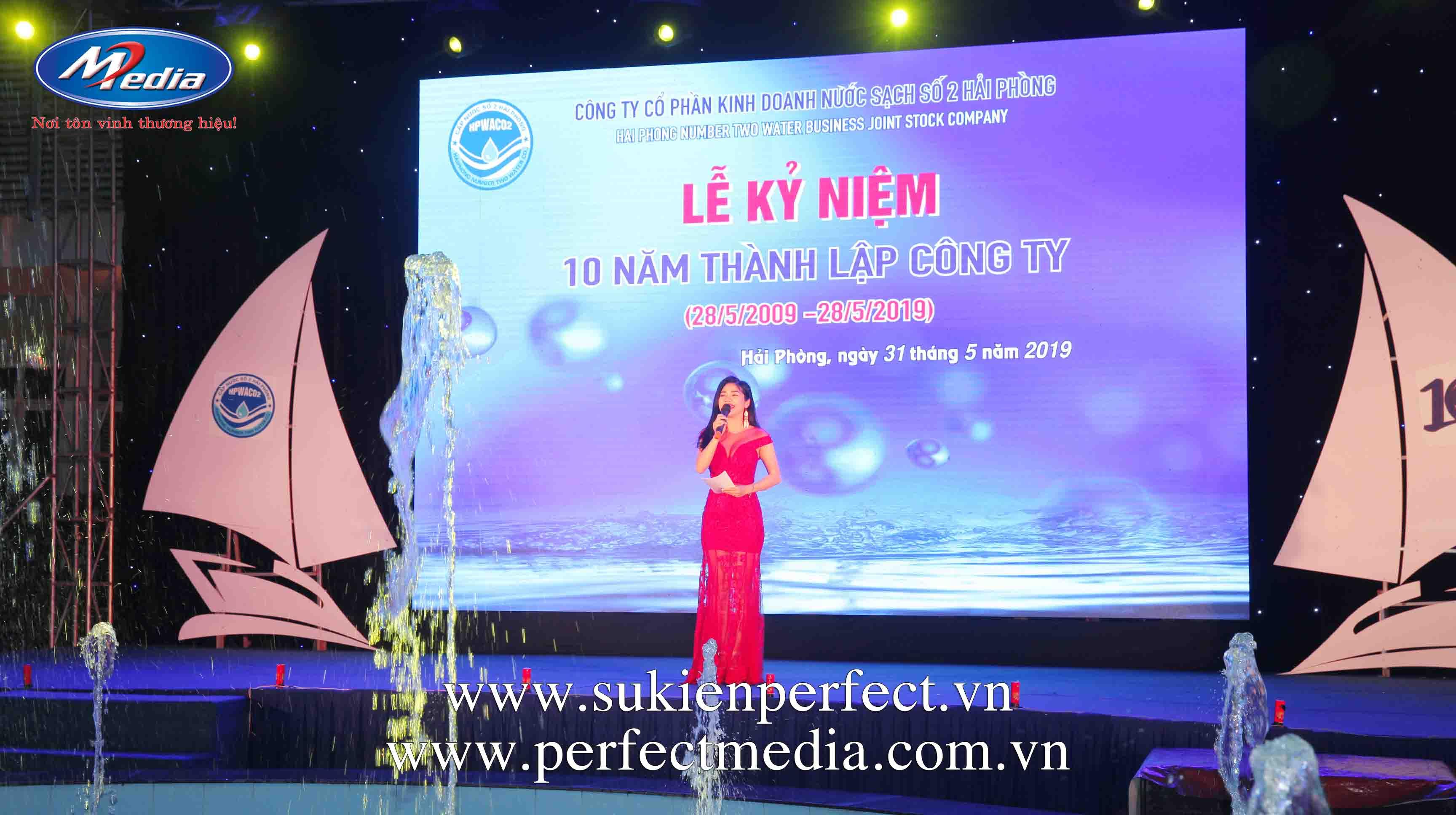 Lễ kỷ niệm 10 năm thành lập công ty Nước sạch số 2 Hải Phòng11