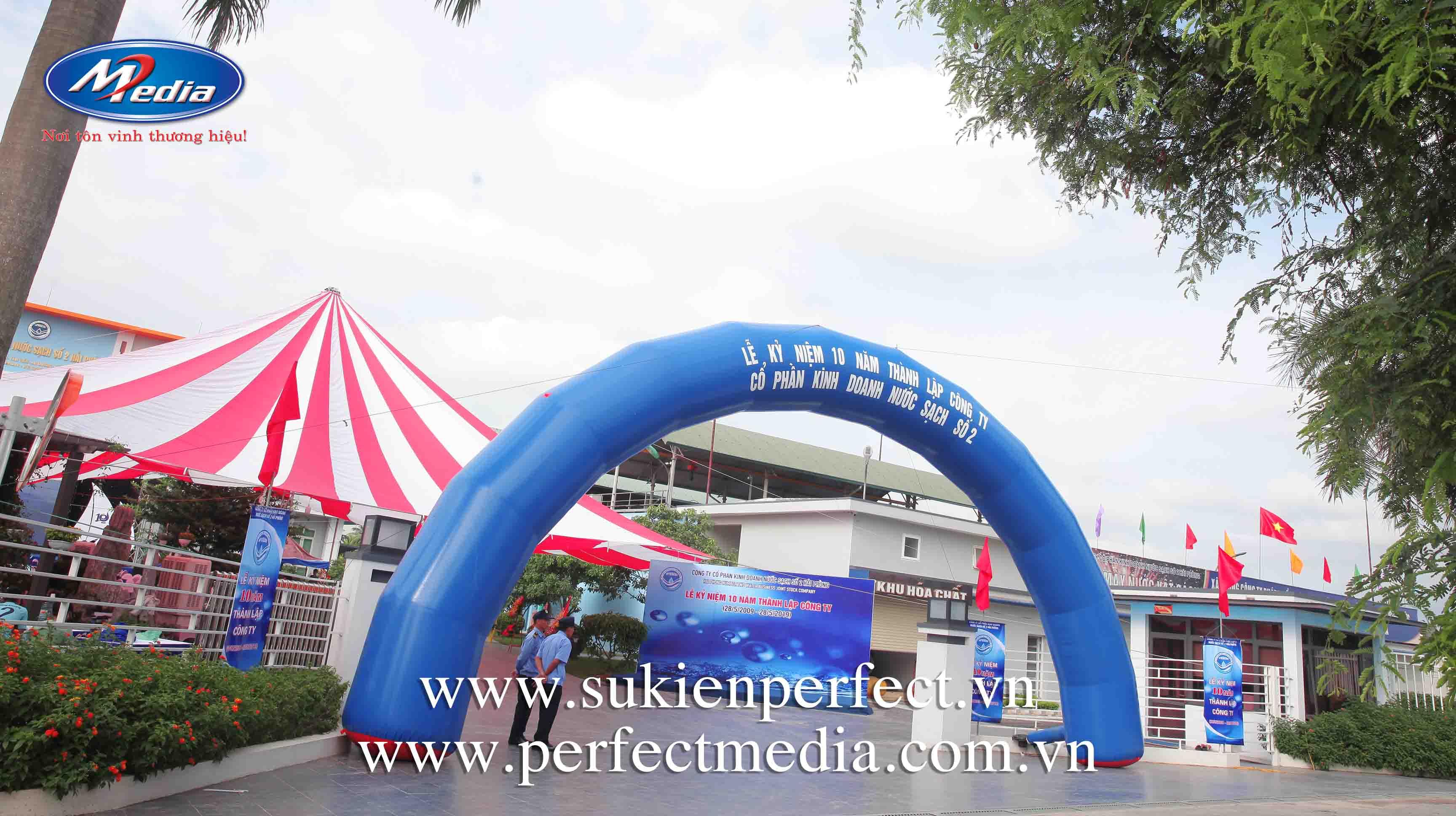 Lễ kỷ niệm 10 năm thành lập công ty Nước sạch số 2 Hải Phòng2