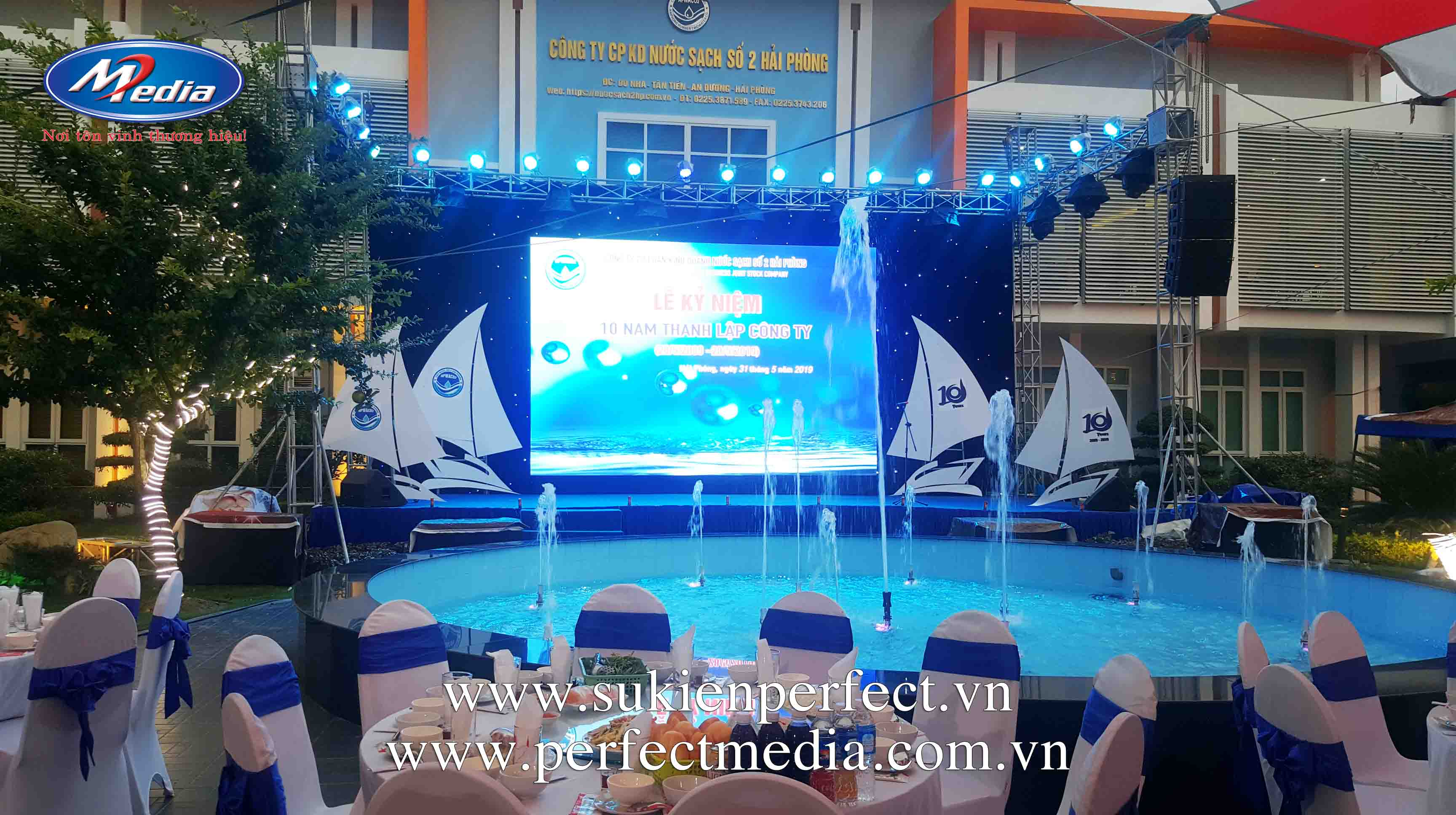 Lễ kỷ niệm 10 năm thành lập công ty Nước sạch số 2 Hải Phòng5aa