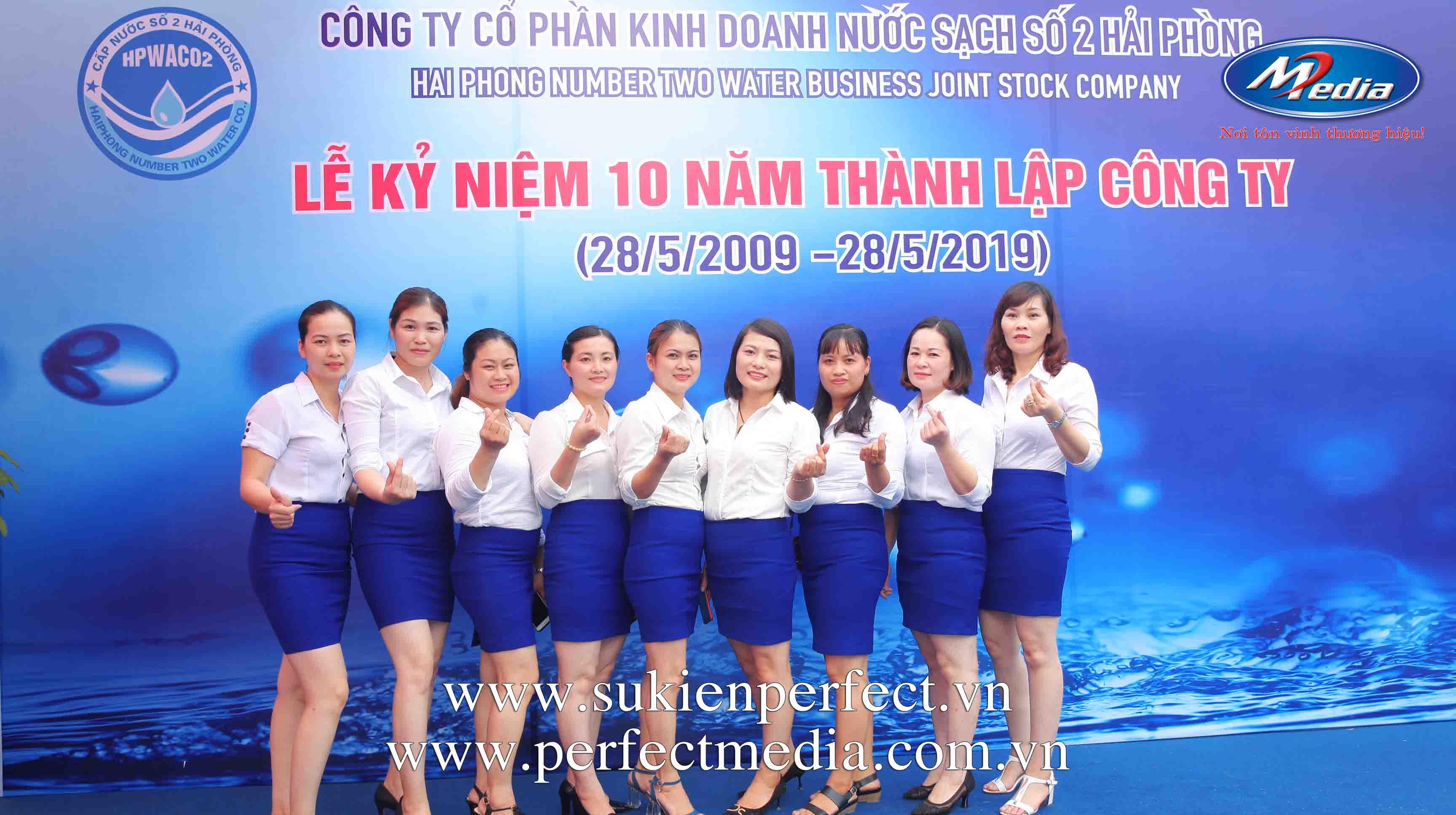 Lễ kỷ niệm 10 năm thành lập công ty Nước sạch số 2 Hải Phòng7