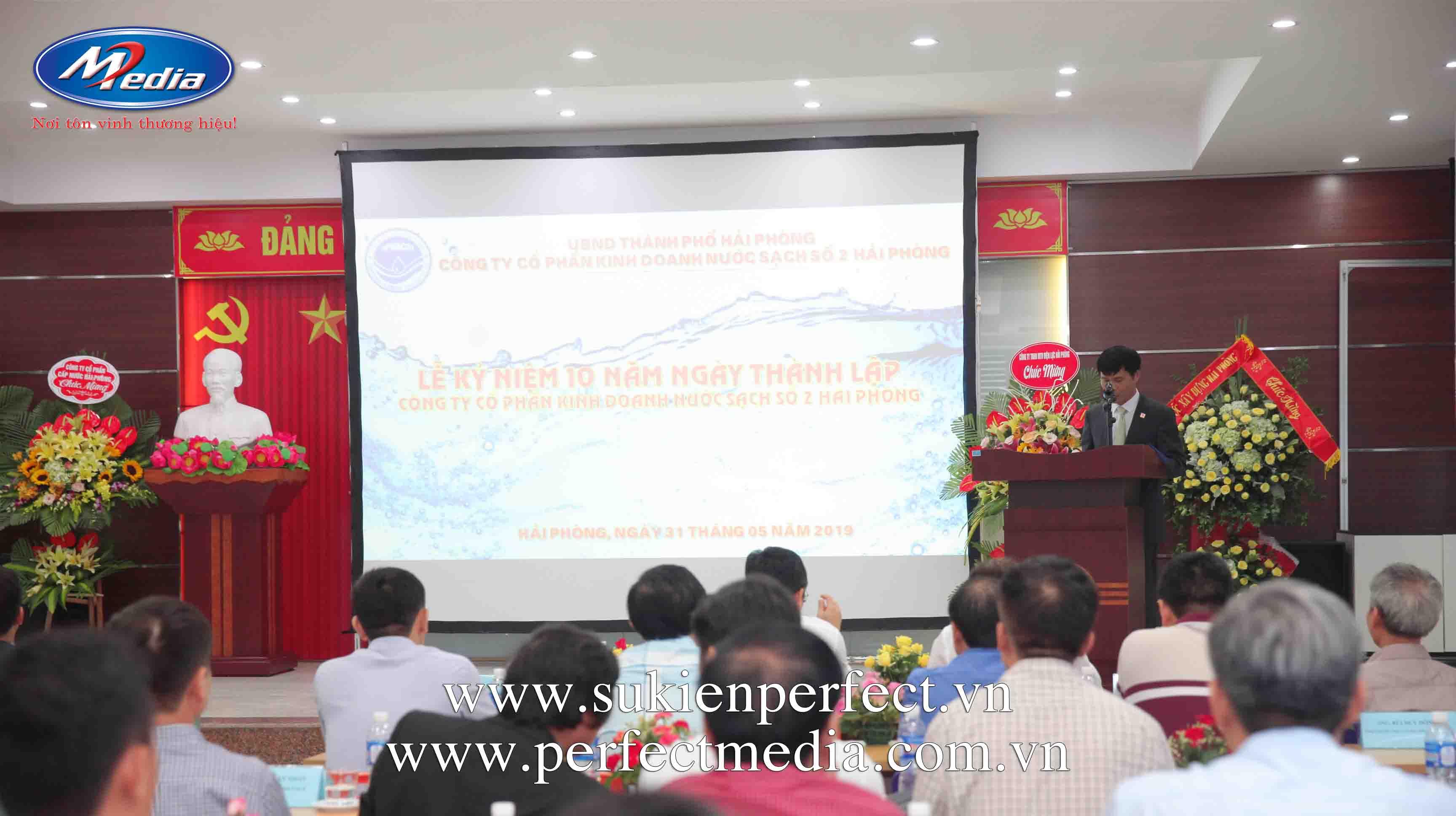 Lễ kỷ niệm 10 năm thành lập công ty Nước sạch số 2 Hải Phòng9