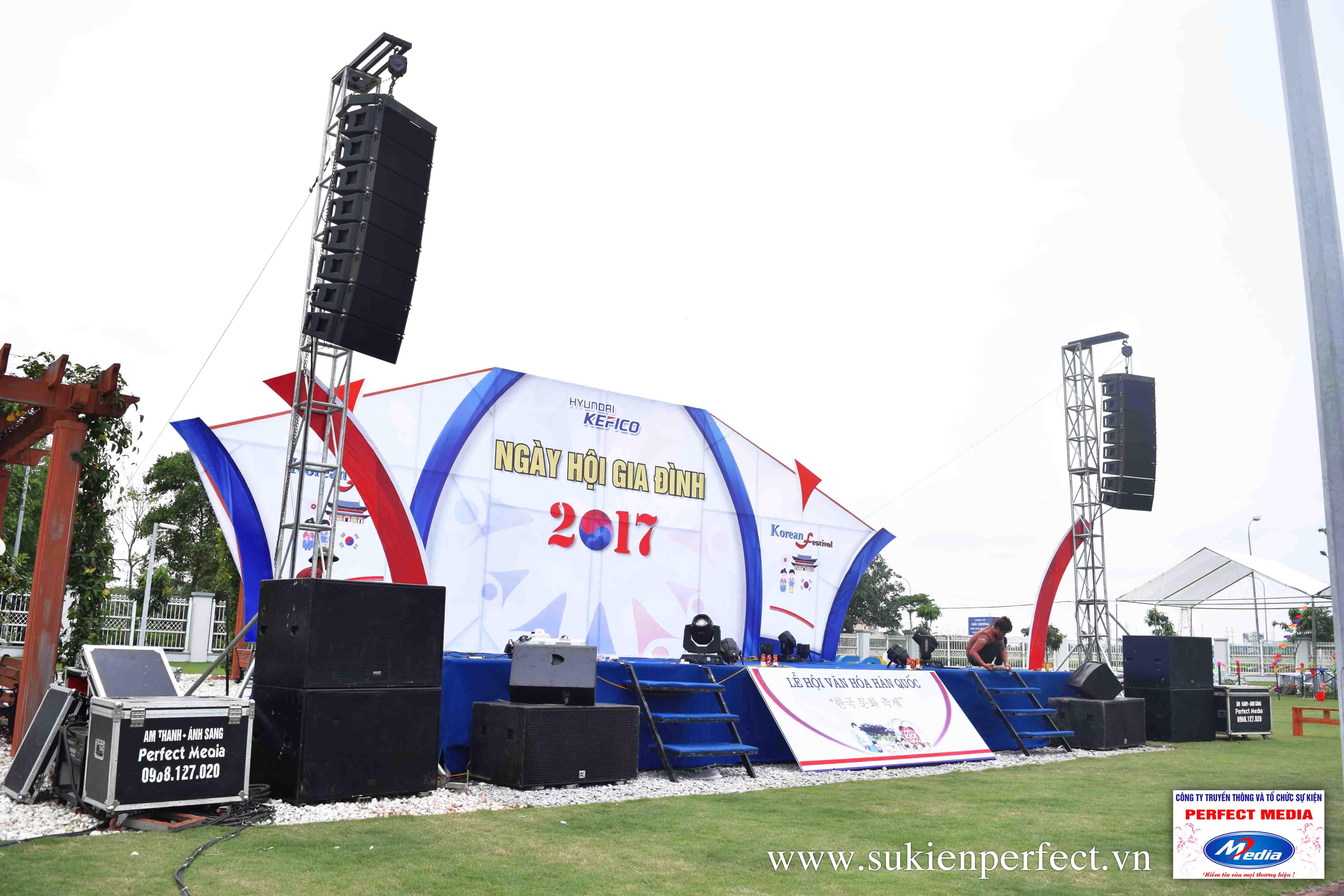 Tổ Chức Ngày Hội Gia Đình - Festival tại Hưng Yên