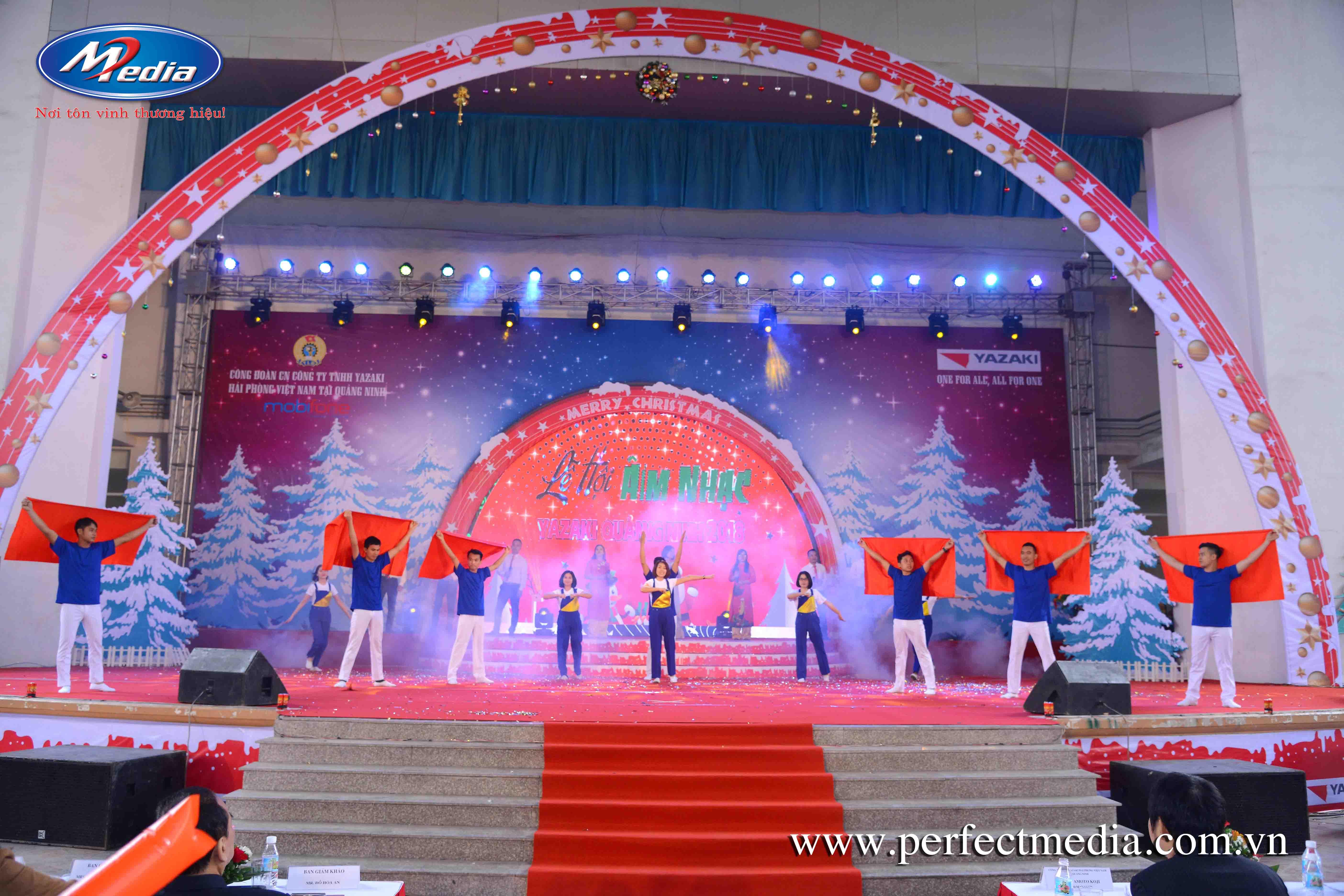 Tổ chức sự kiện Giáng Sinh Noel tai Ha Long