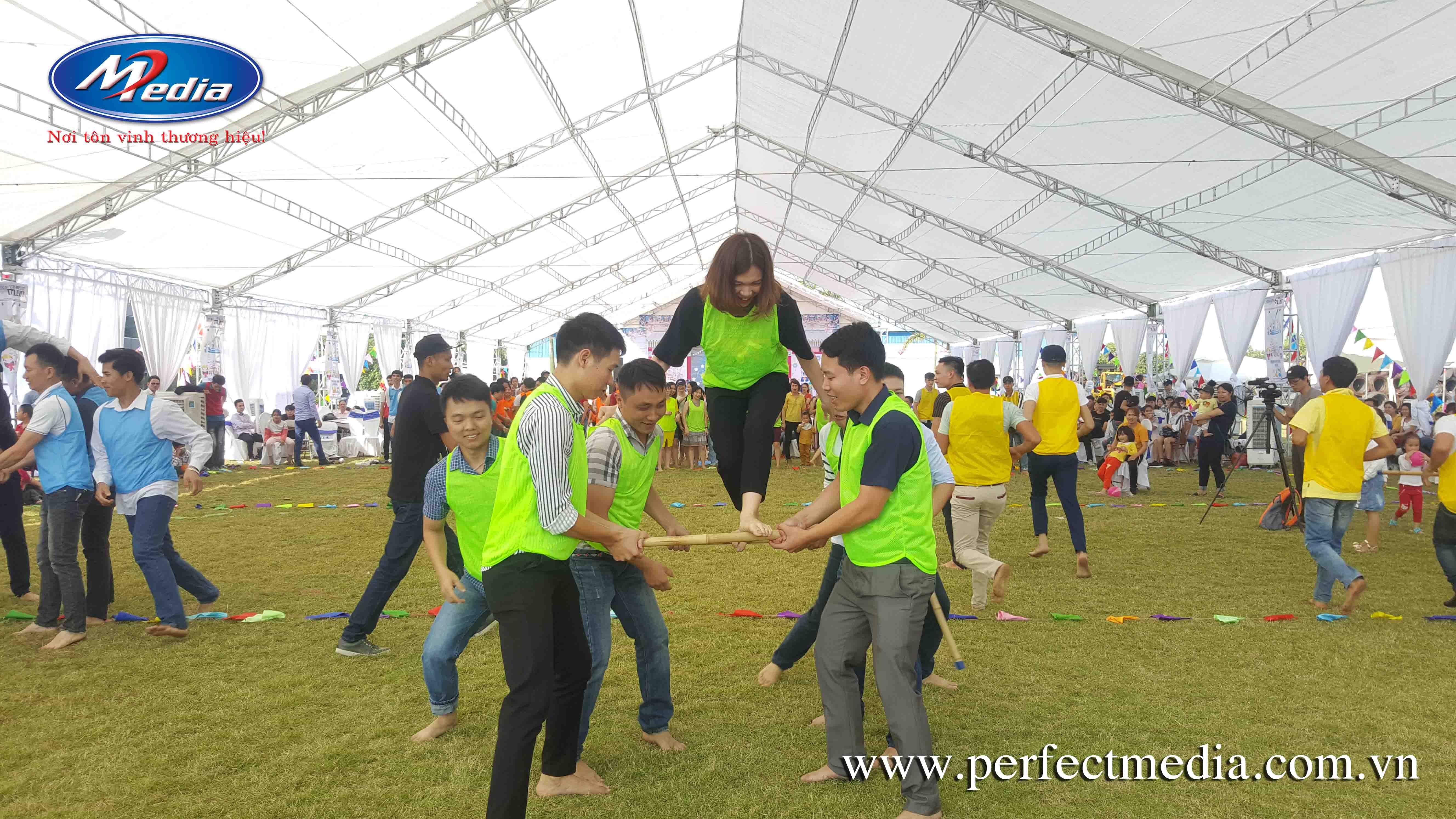 dịch vụtổ chức sự kiện ngày hội Gia đình(Family day) tại quảng ninh ha long