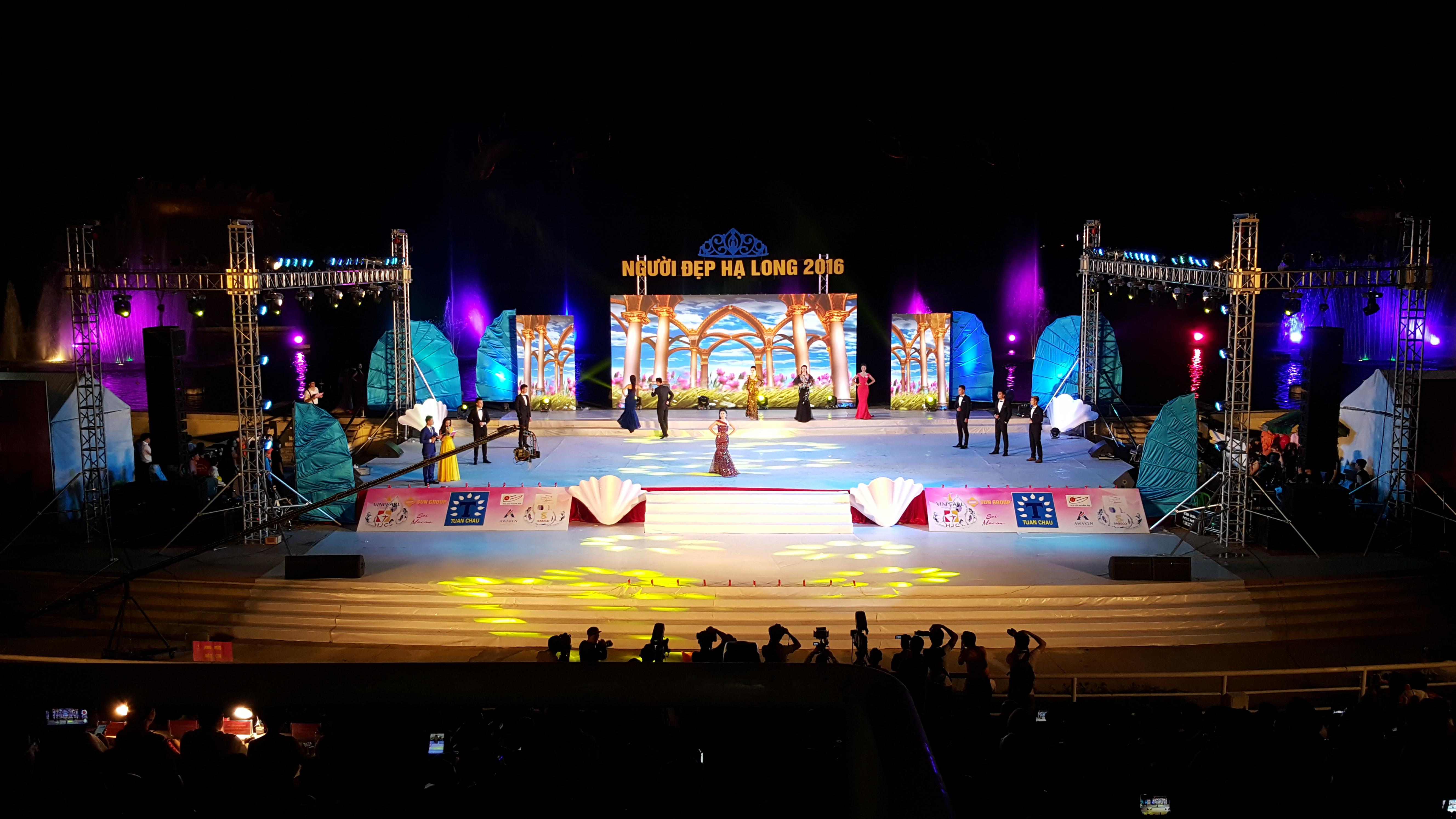 tổ chức các cuộc thi người đẹp Hạ Long
