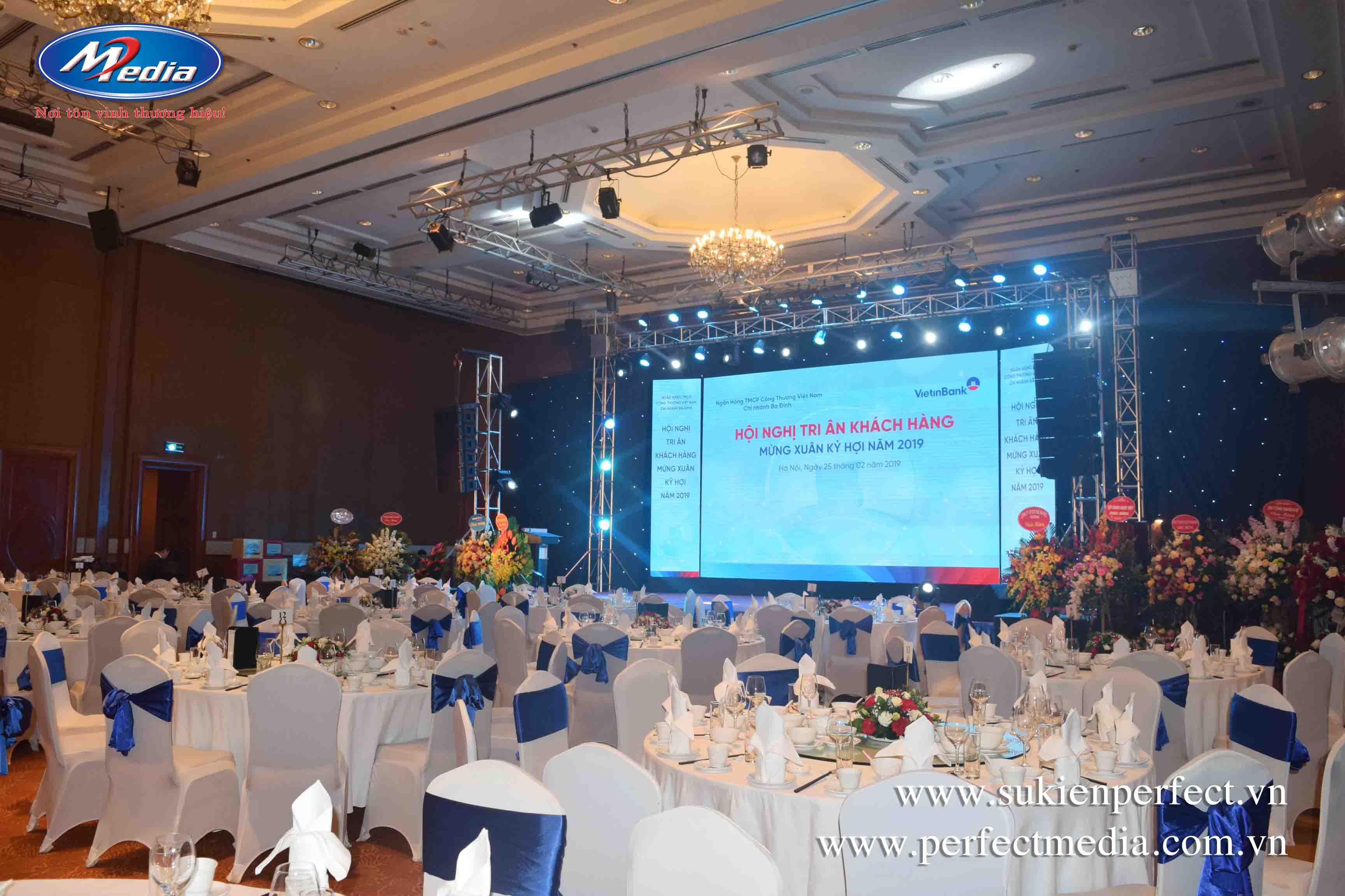 tổ chức hội nghị tri ân khách hàng tại Bắc Ninh