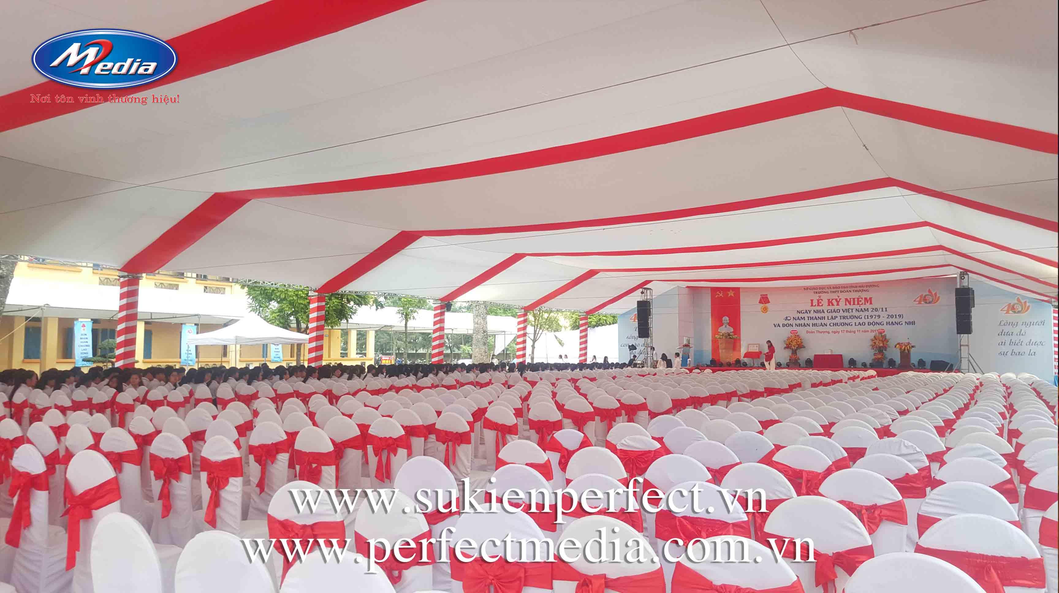 tổ chức lễ kỷ niệm tại Bắc Ninh 01