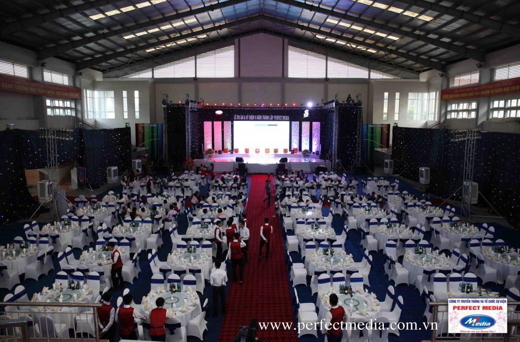 tổ chức sự kiện tại Nam Định 01